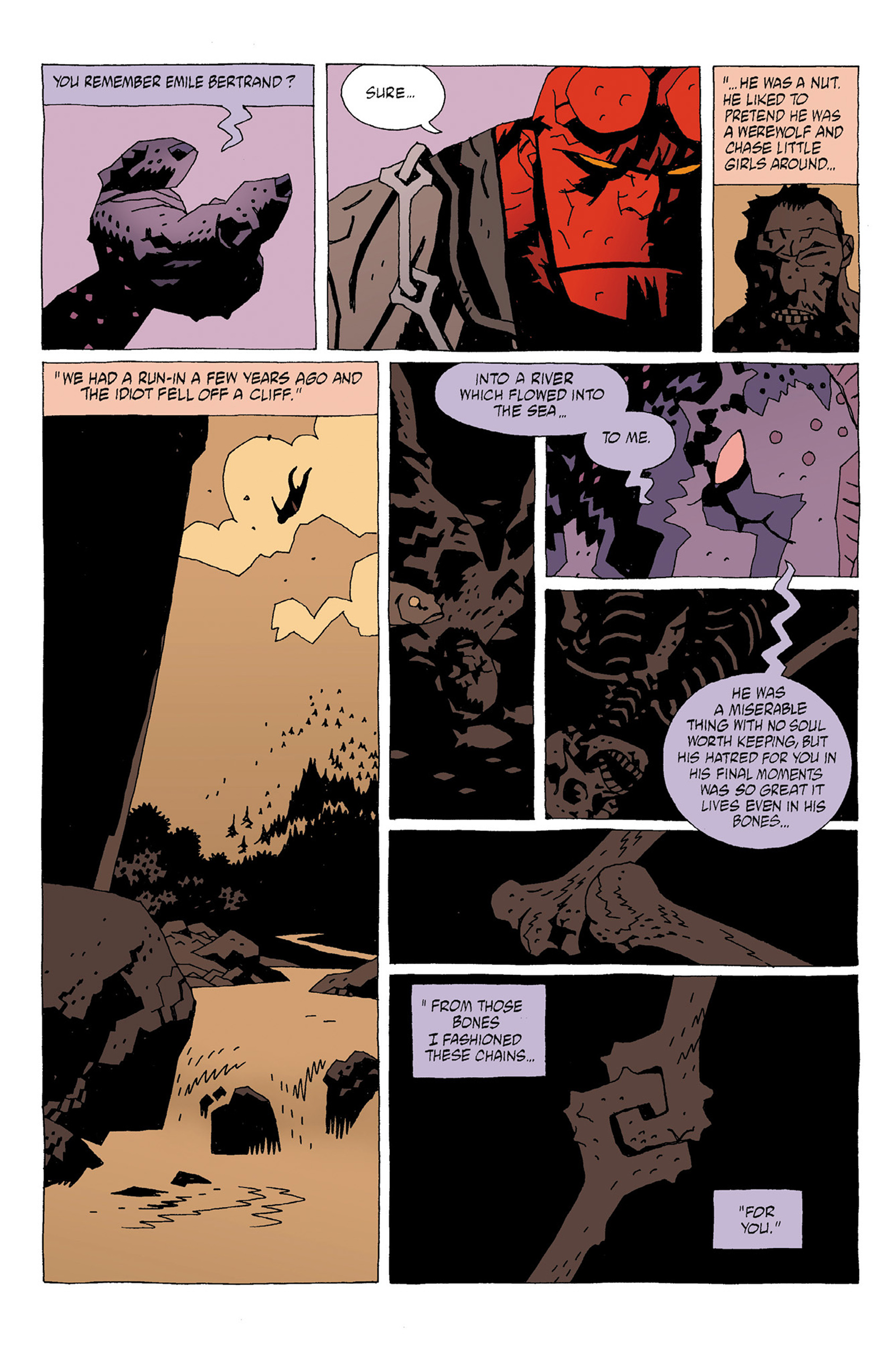 Read online Hellboy: Strange Places comic -  Issue # TPB - 28