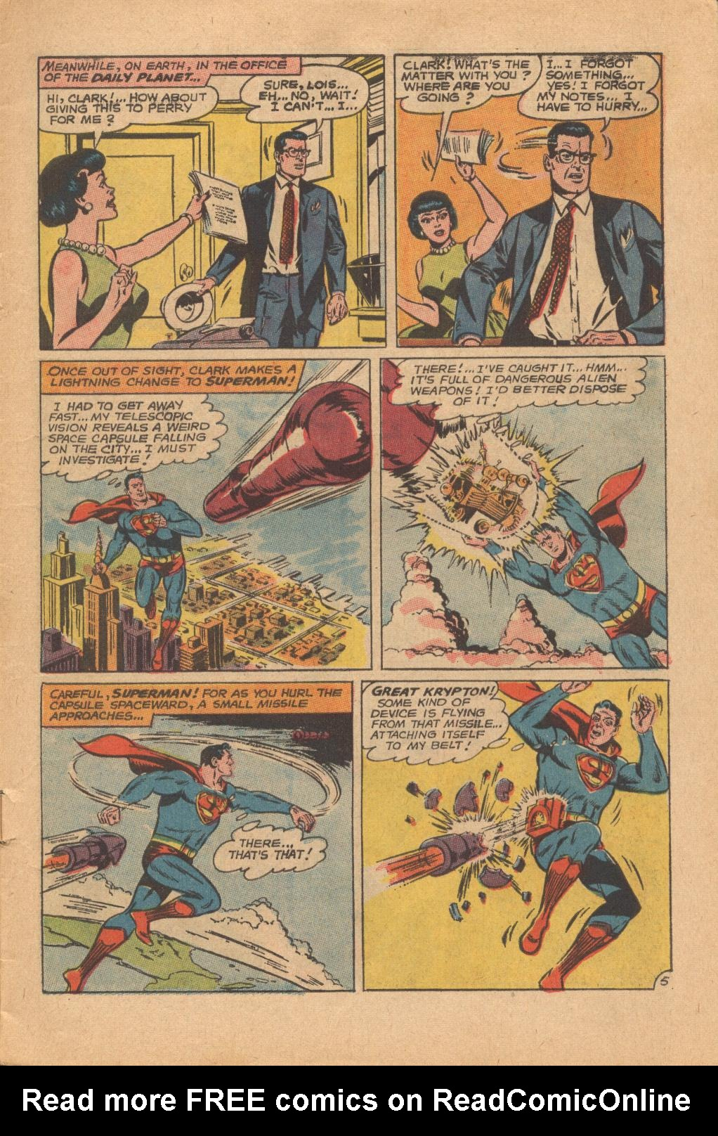 Read online Action Comics (1938) comic -  Issue #342 - 7