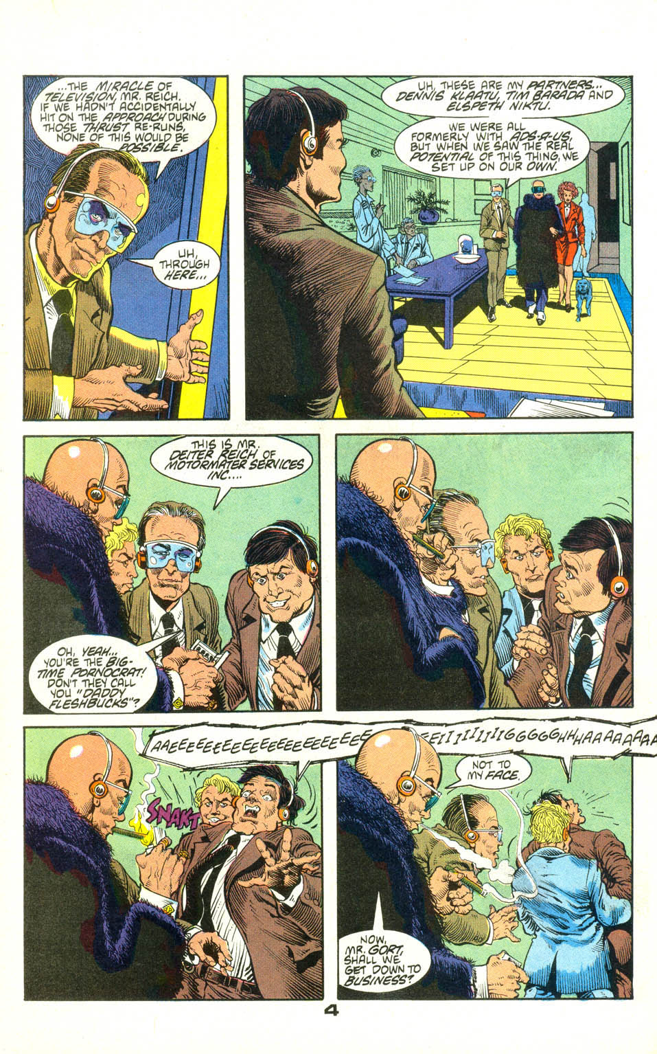 Read online American Flagg! comic -  Issue #22 - 26