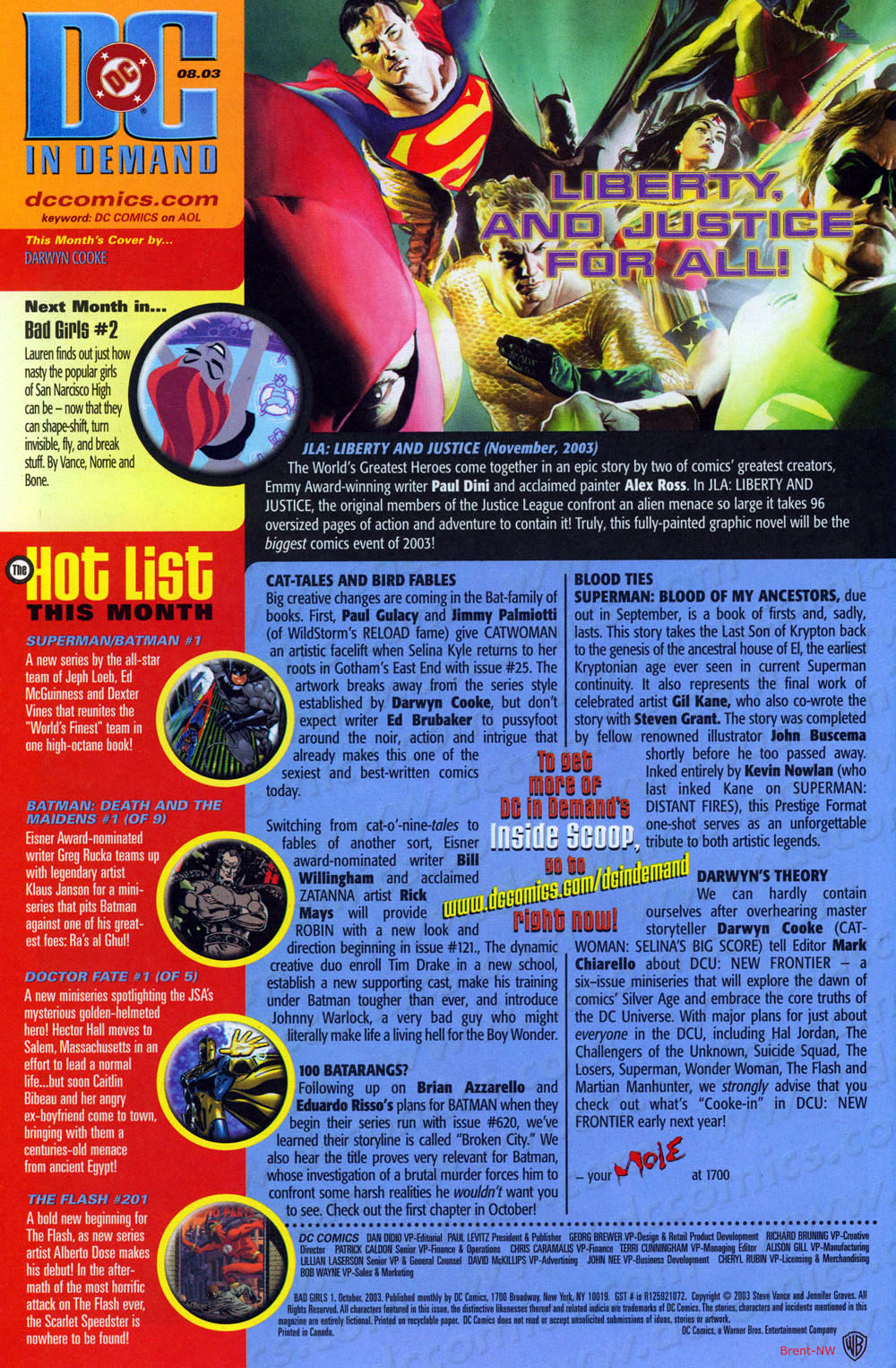 Read online Bad Girls comic -  Issue #1 - 24