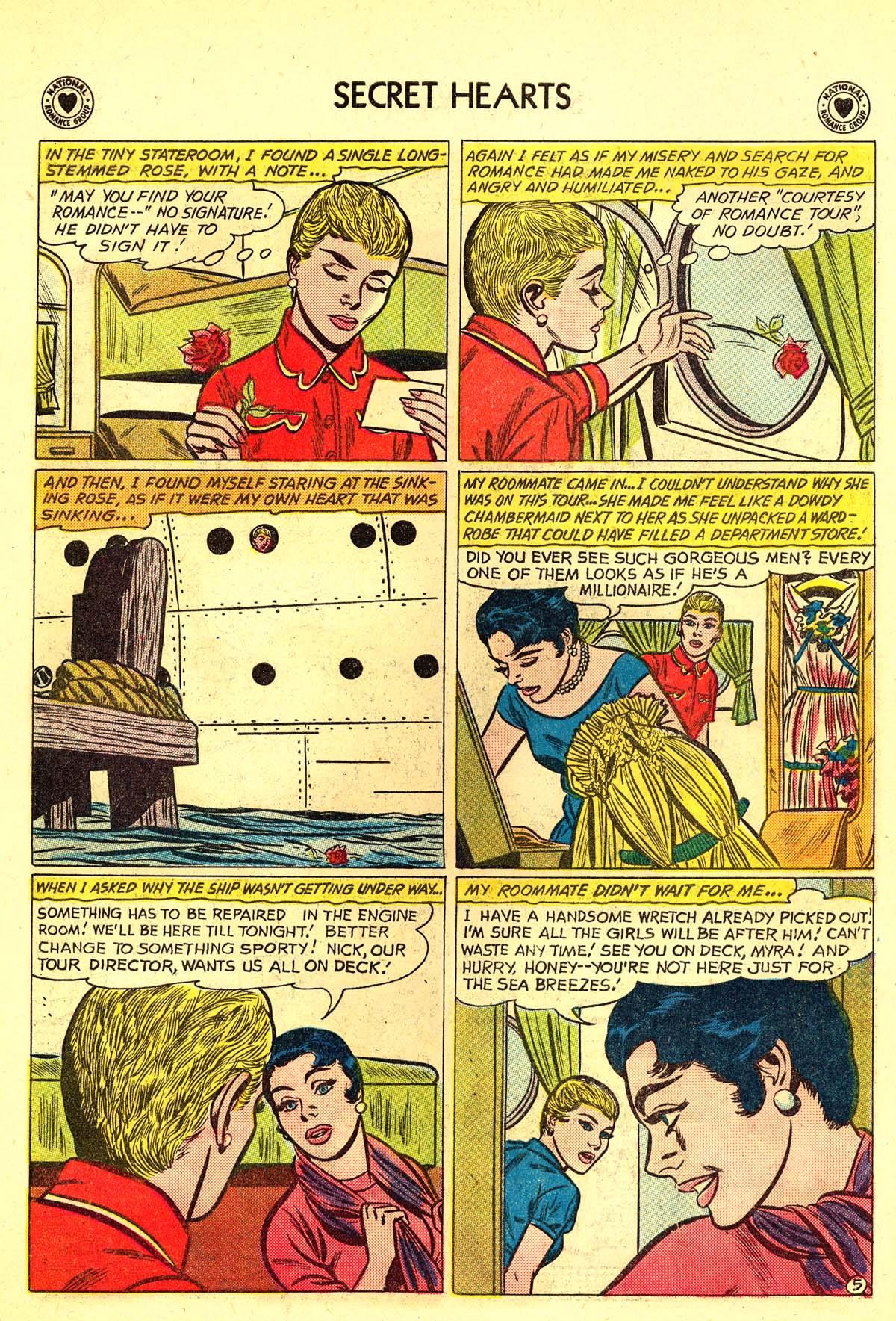 Read online Secret Hearts comic -  Issue #64 - 14