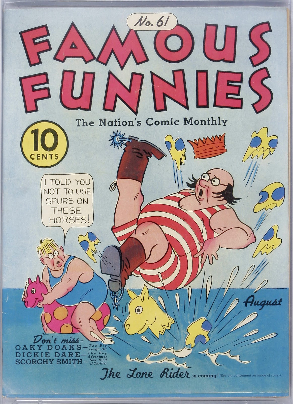 Read online Famous Funnies comic -  Issue #61 - 1