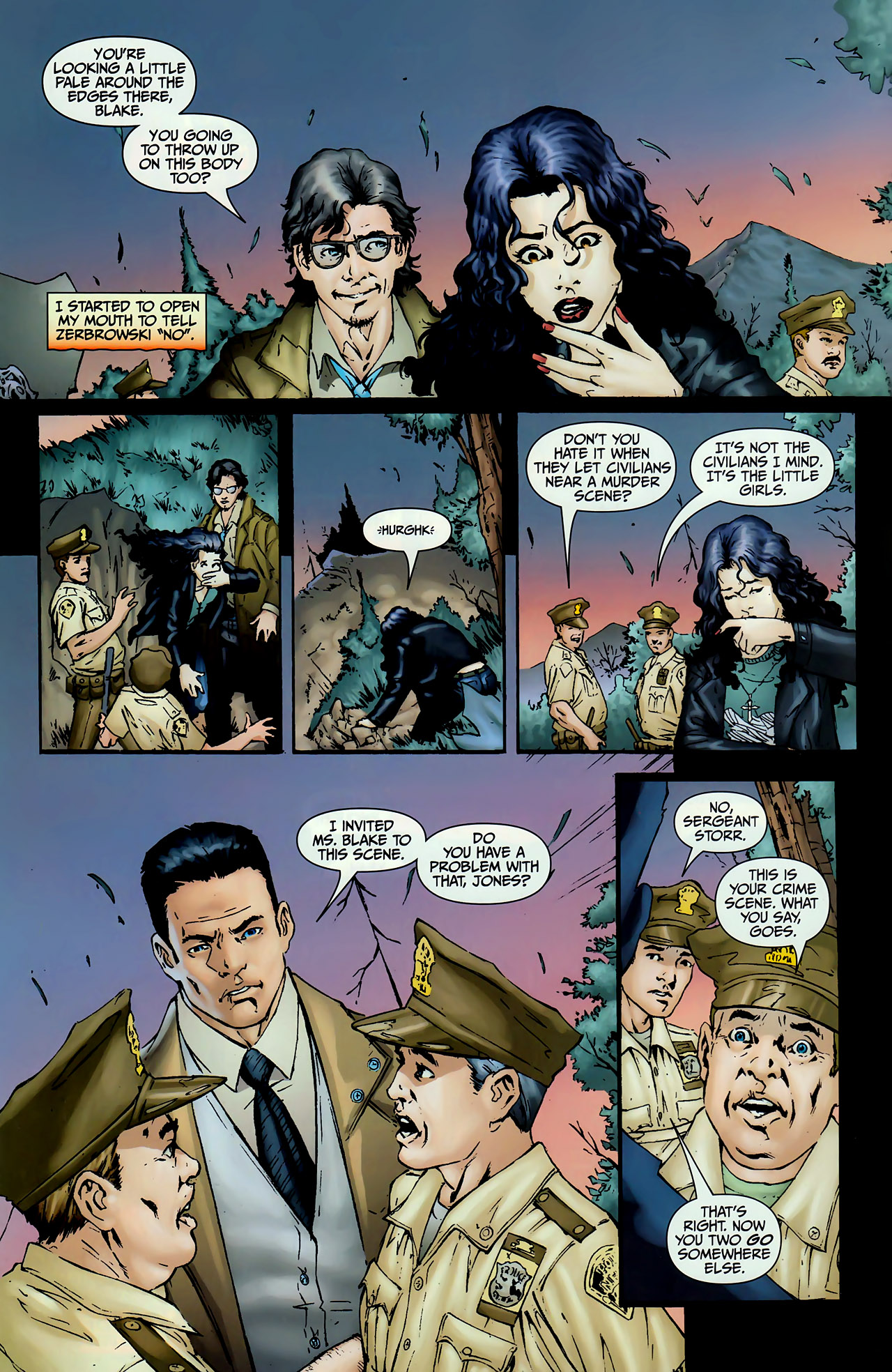 Read online Anita Blake, Vampire Hunter: The First Death comic -  Issue #1 - 4