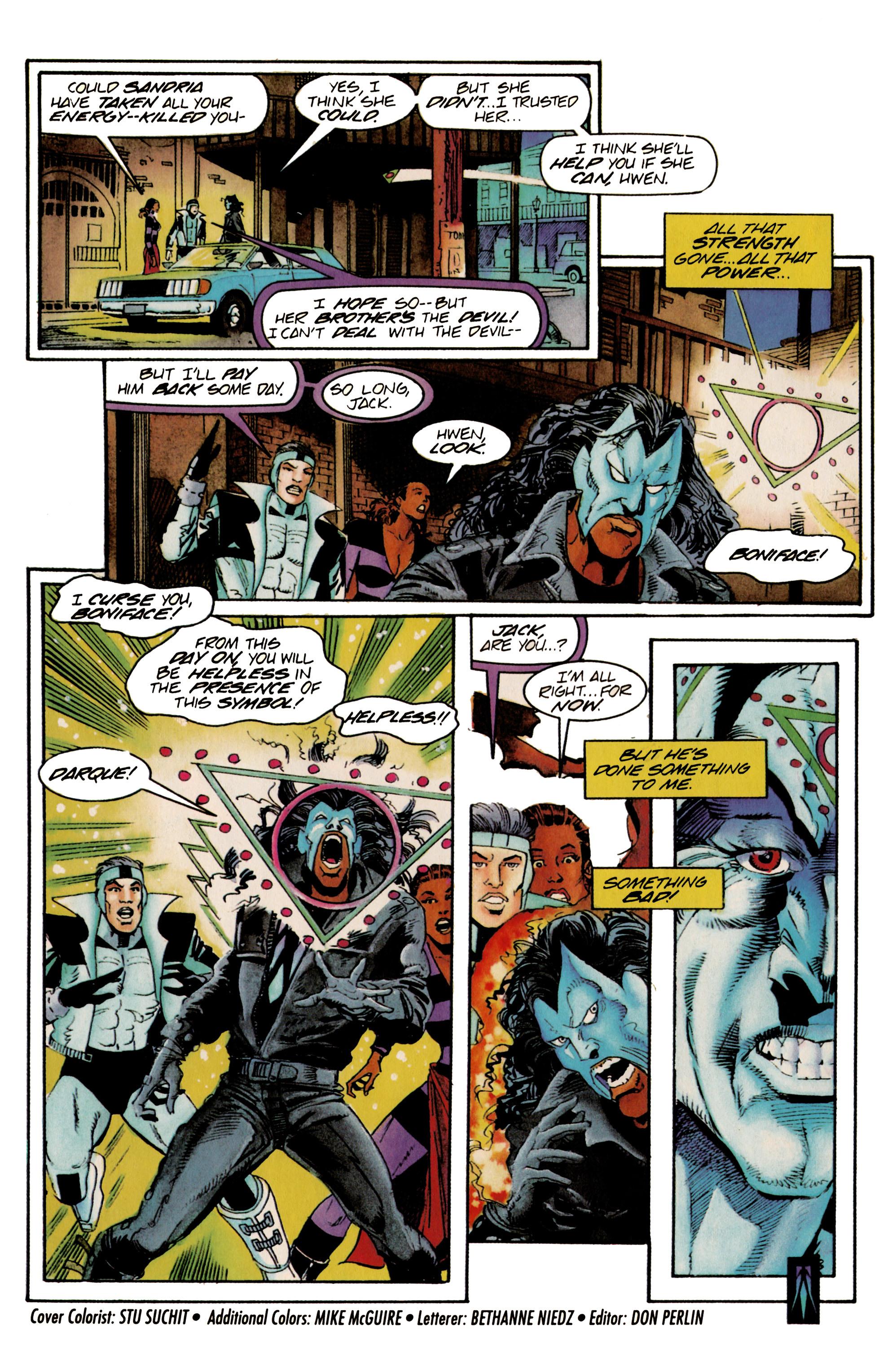 Read online Shadowman (1992) comic -  Issue #23 - 22