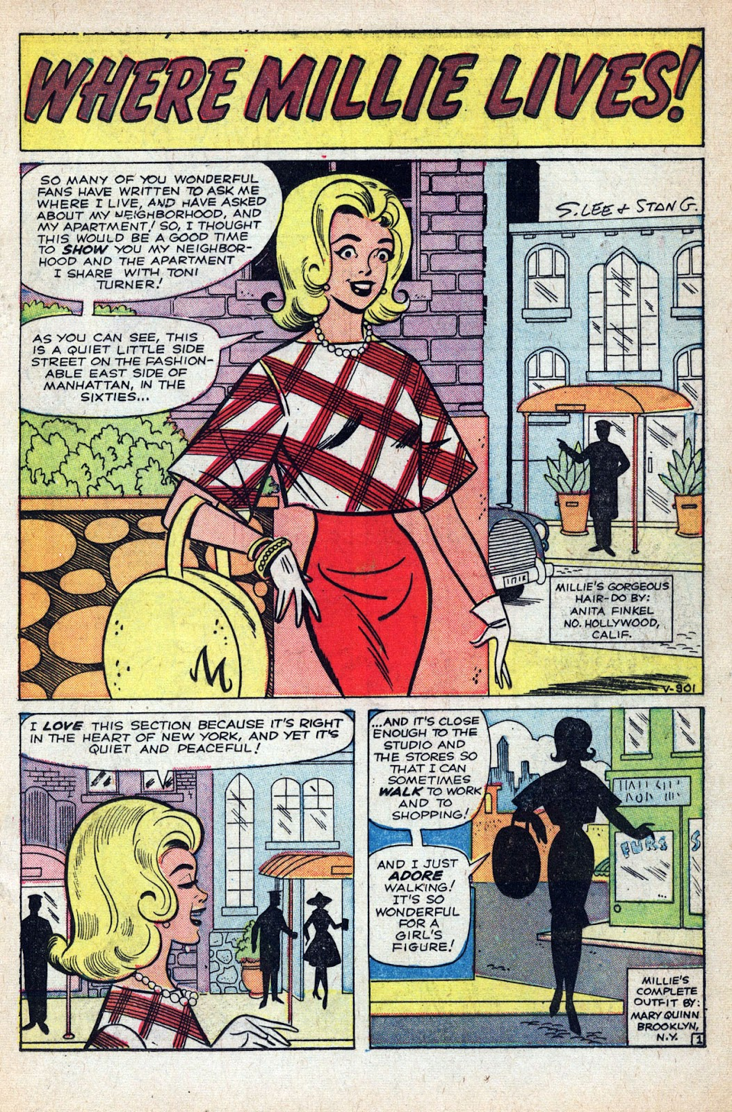Read online Millie the Model comic -  Issue # Annual 1 - 71