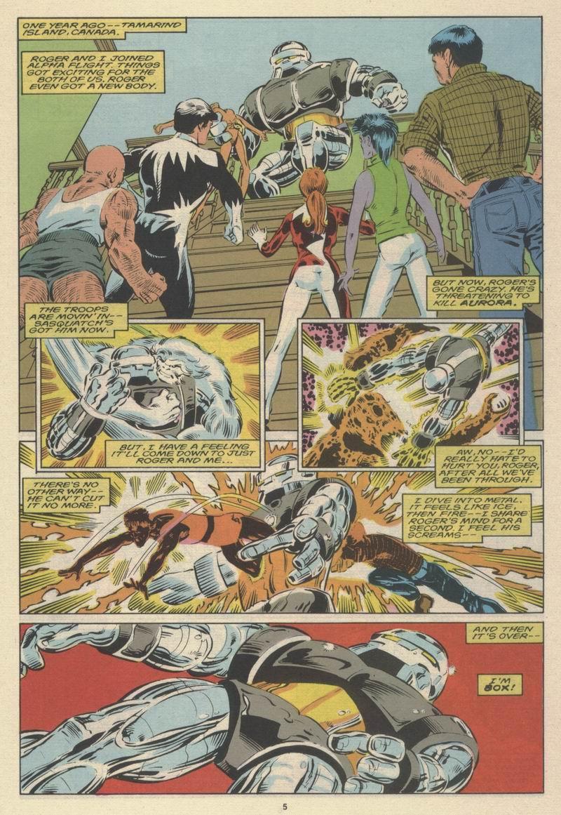 Read online Alpha Flight (1983) comic -  Issue #63 - 7