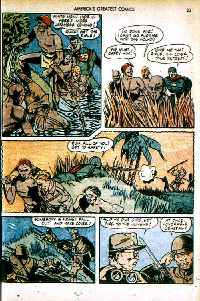 Read online America's Greatest Comics comic -  Issue #4 - 33