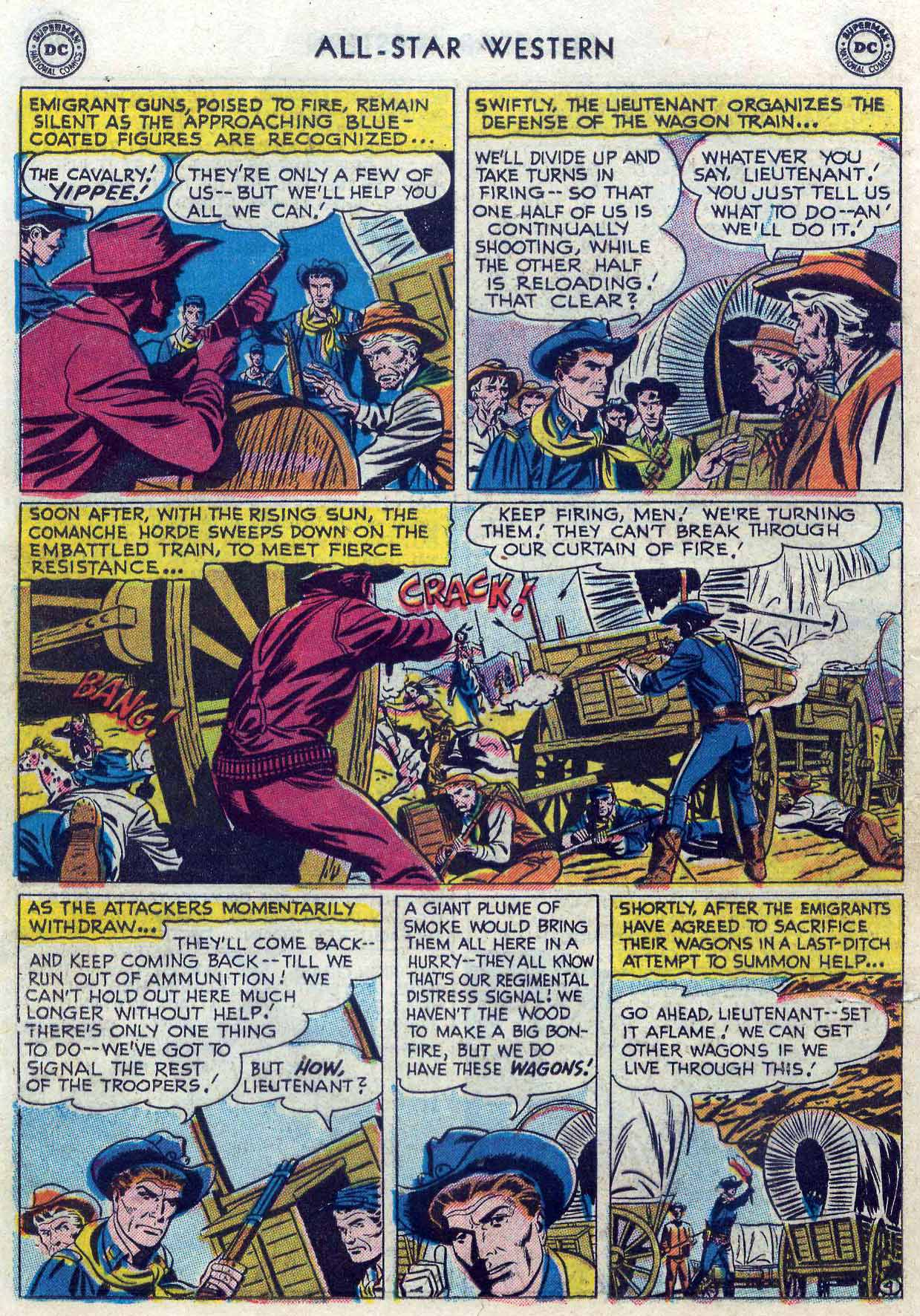 Read online All-Star Western (1951) comic -  Issue #85 - 22