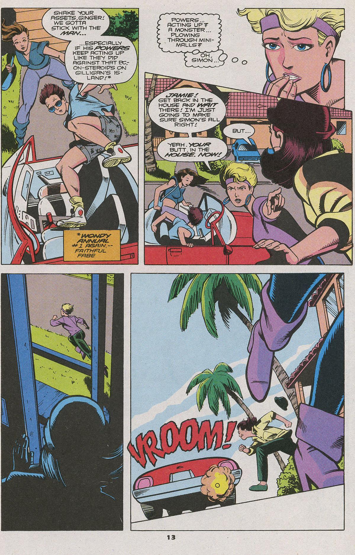Read online Wonder Man (1991) comic -  Issue #11 - 9