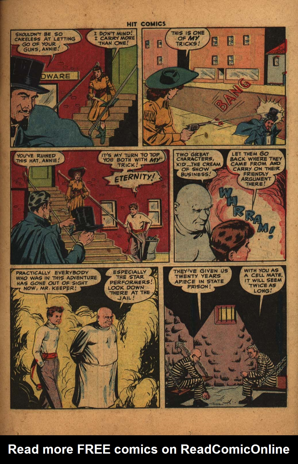 Read online Hit Comics comic -  Issue #47 - 14