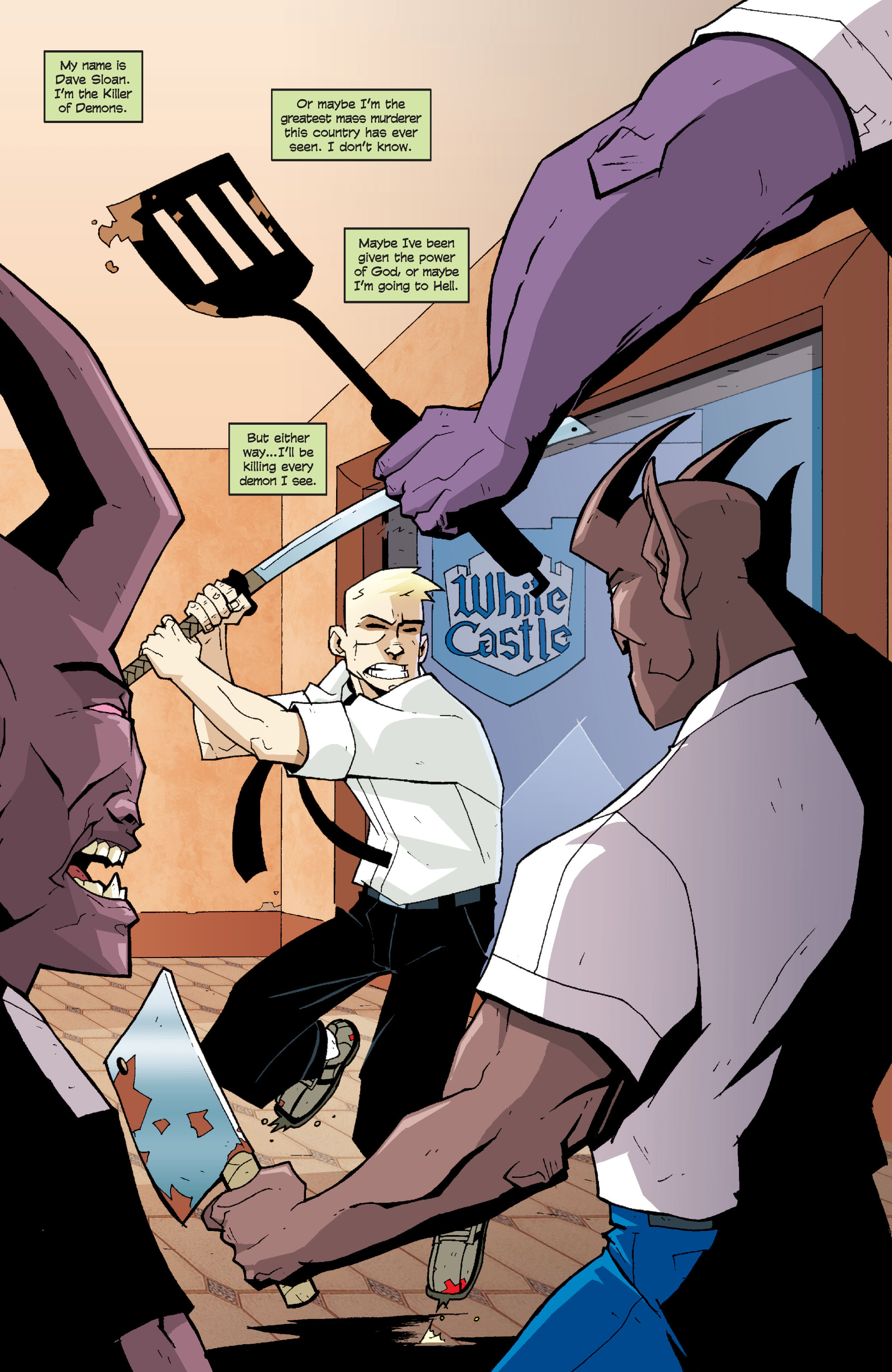 Read online Killer Of Demons comic -  Issue #3 - 30