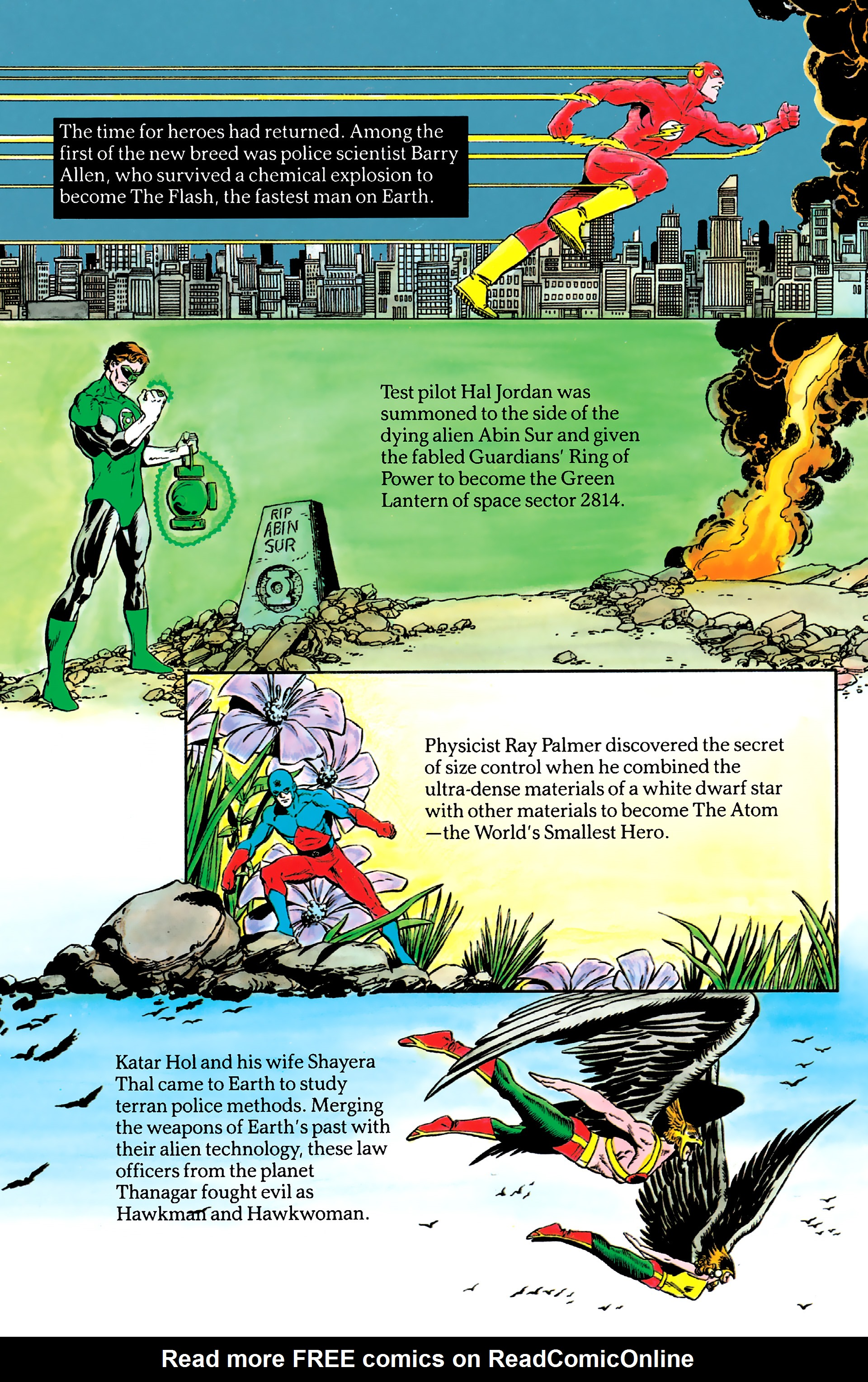 Read online History of the DC Universe comic -  Issue #2 - 17