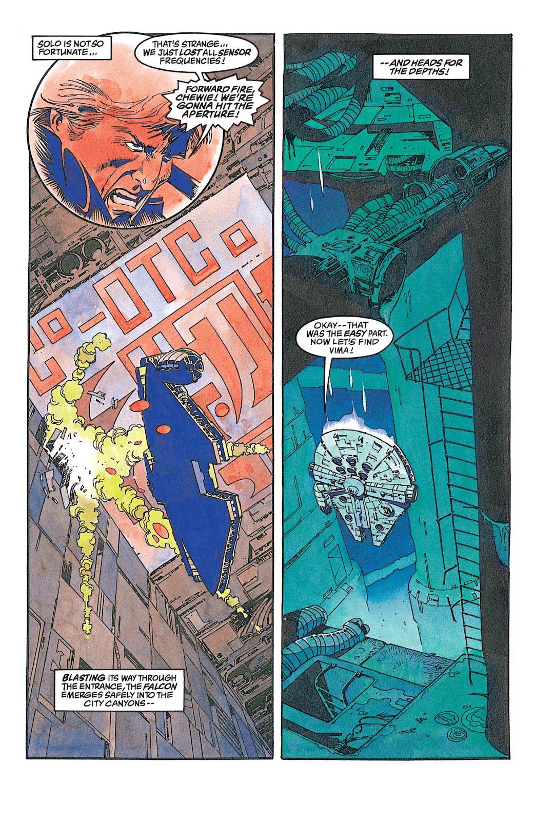 Read online Star Wars: Dark Empire Trilogy comic -  Issue # TPB (Part 2) - 98