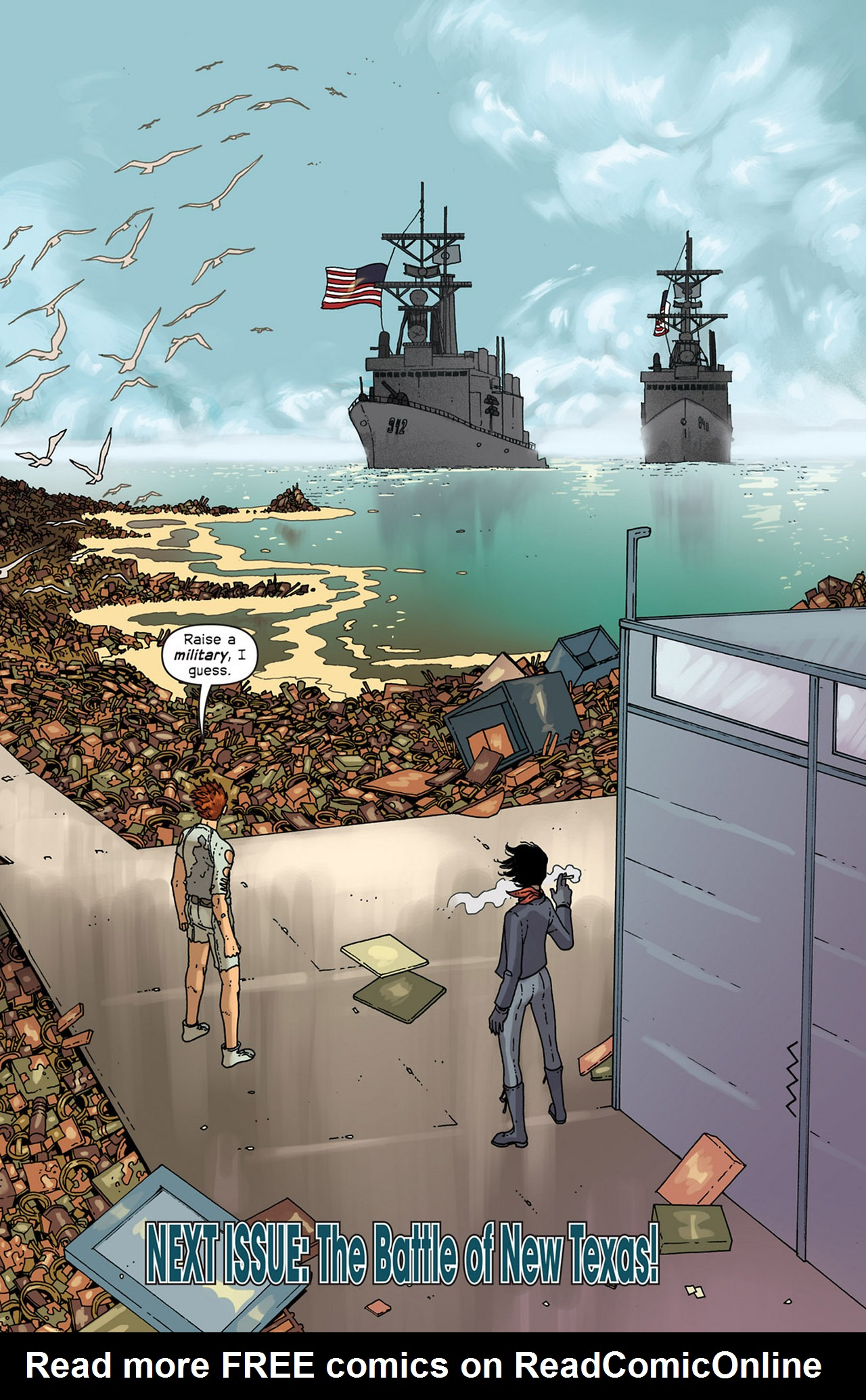 Read online Great Pacific comic -  Issue #5 - 26