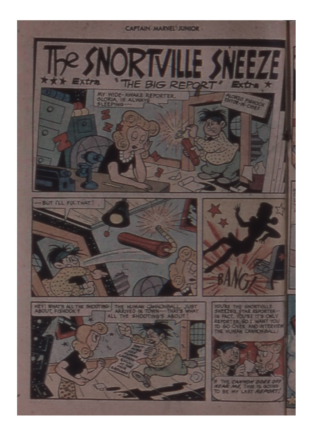 Captain Marvel, Jr. issue 58 - Page 34