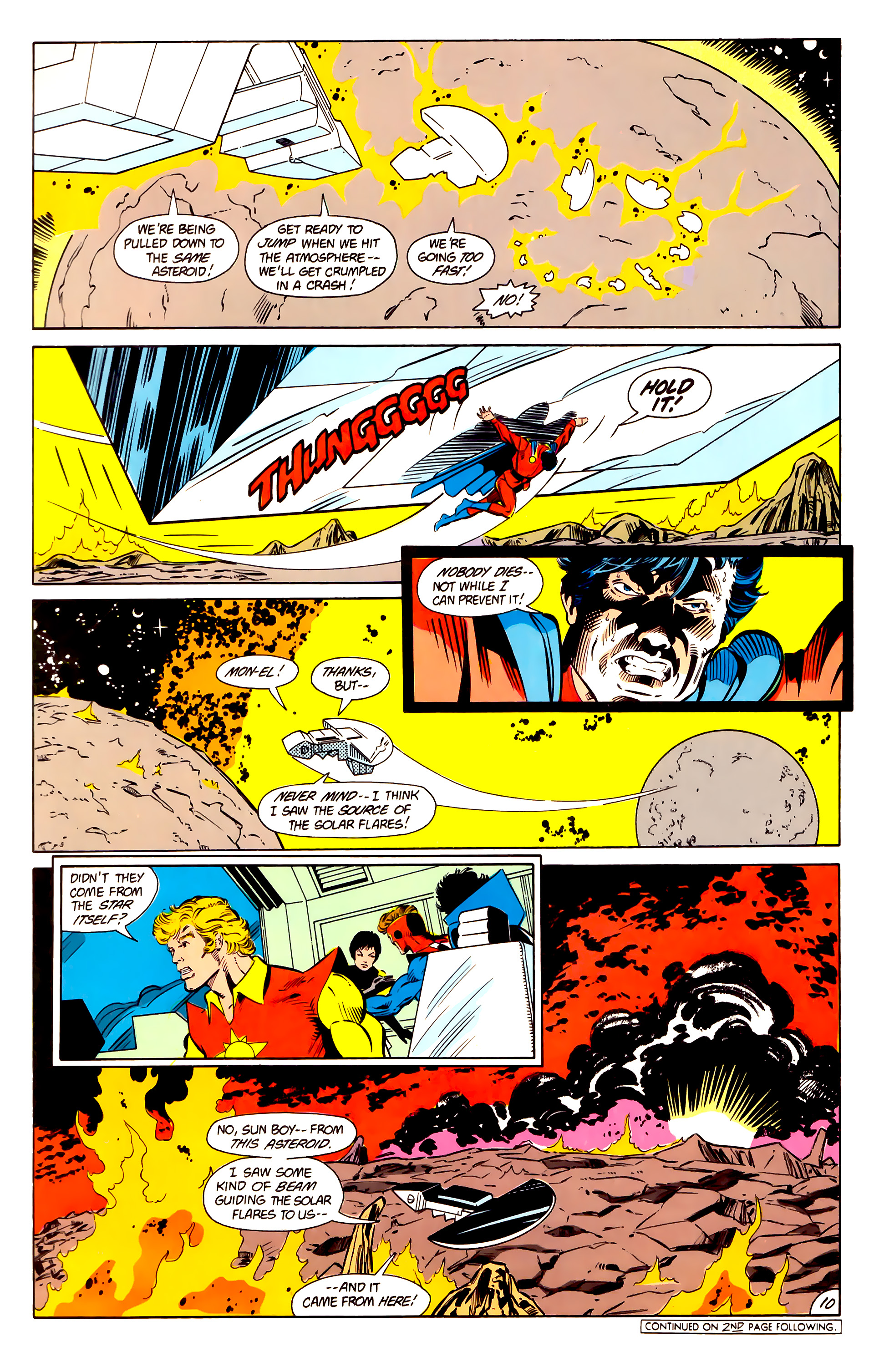 Legion of Super-Heroes (1984) 15 Page 11