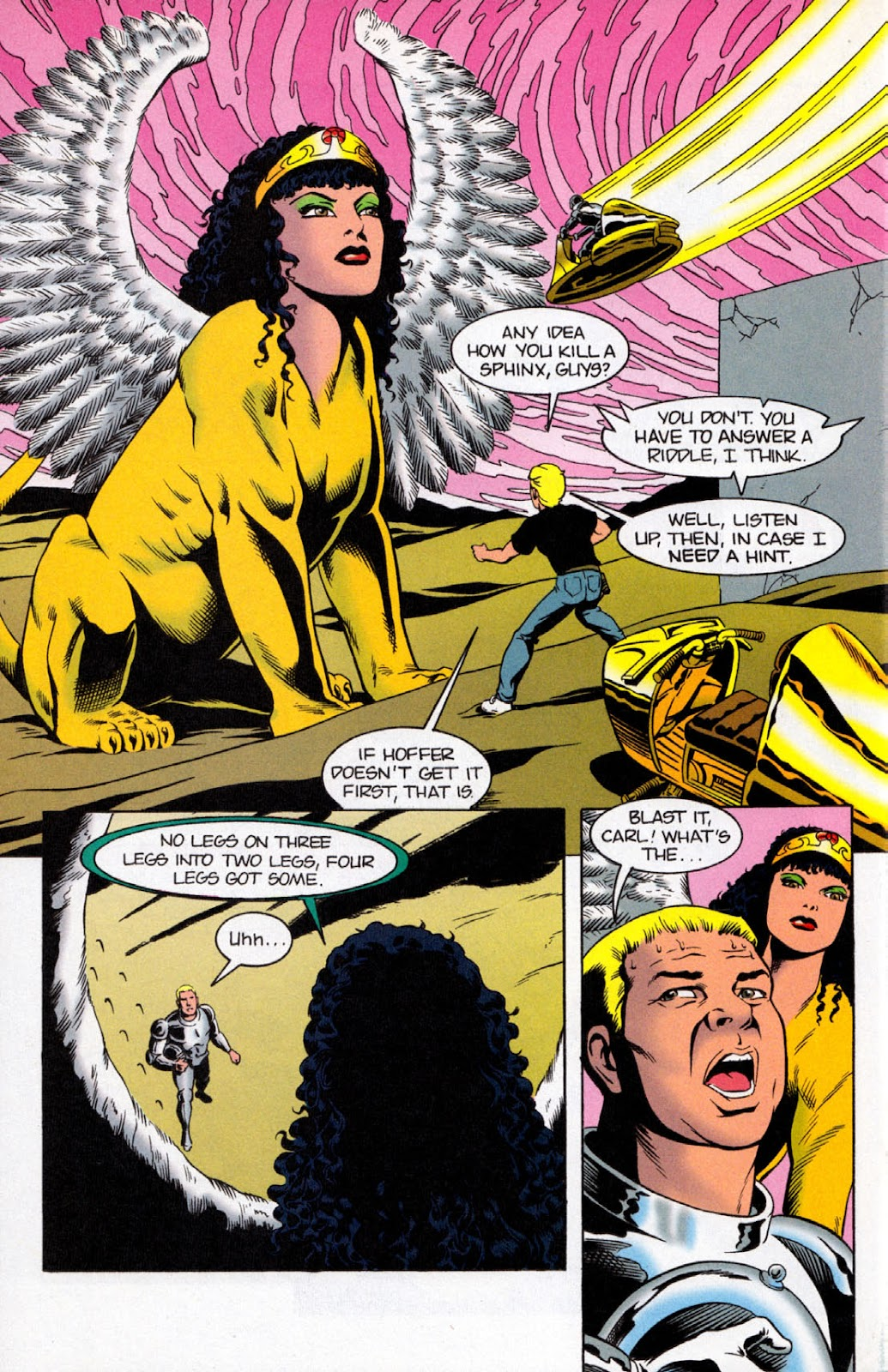 Read online The Real Adventures of Jonny Quest comic -  Issue #8 - 24