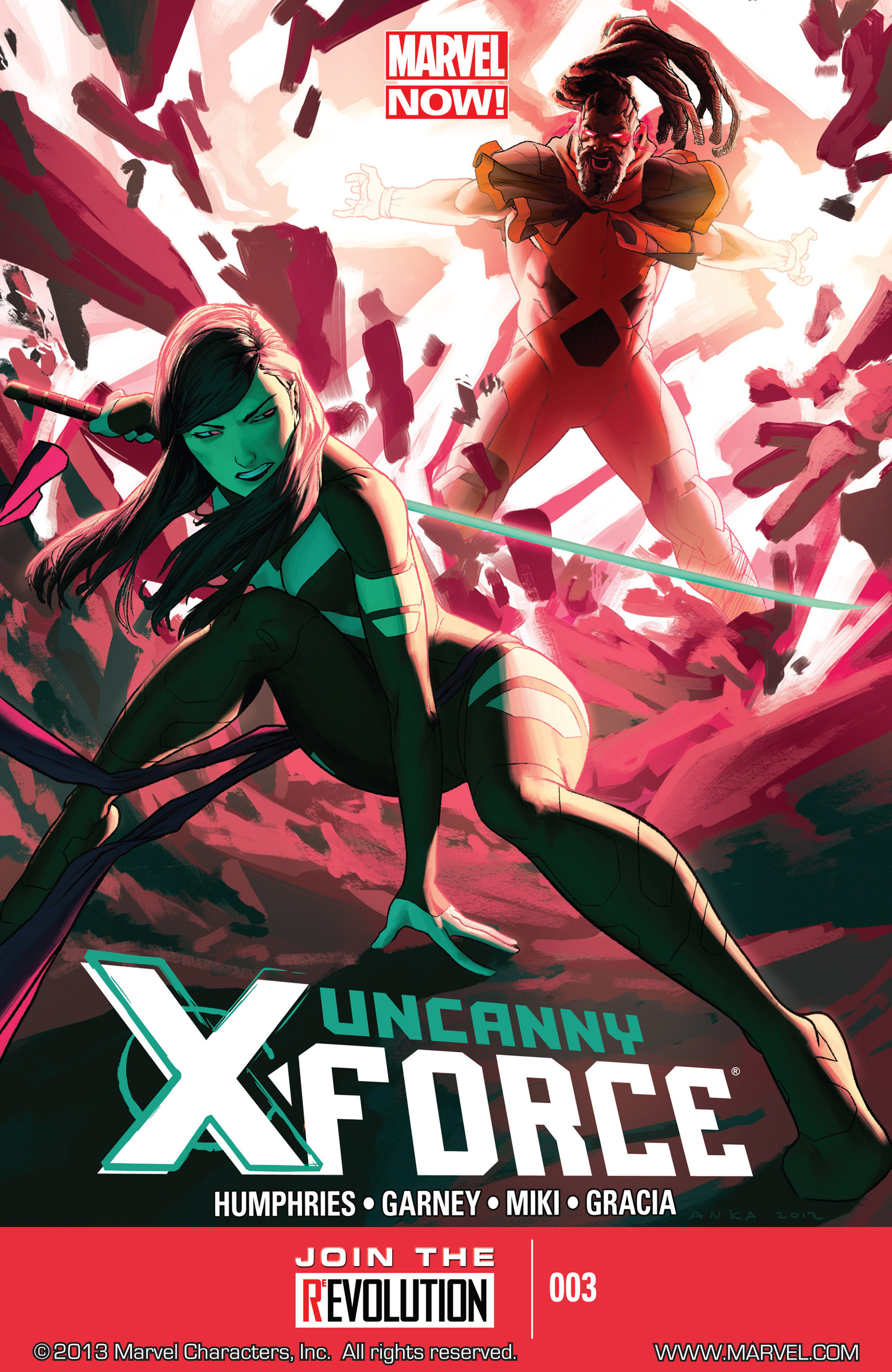 Read online Uncanny X-Force (2013) comic -  Issue #3 - 1