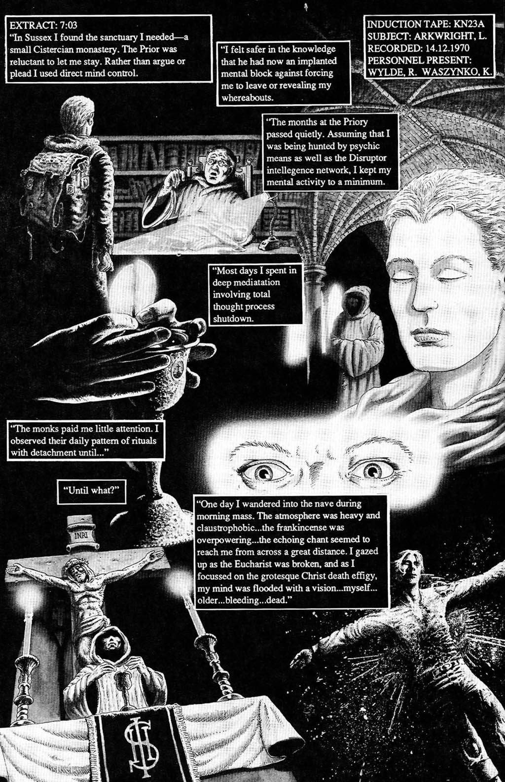Read online The Adventures of Luther Arkwright comic -  Issue #2 - 14