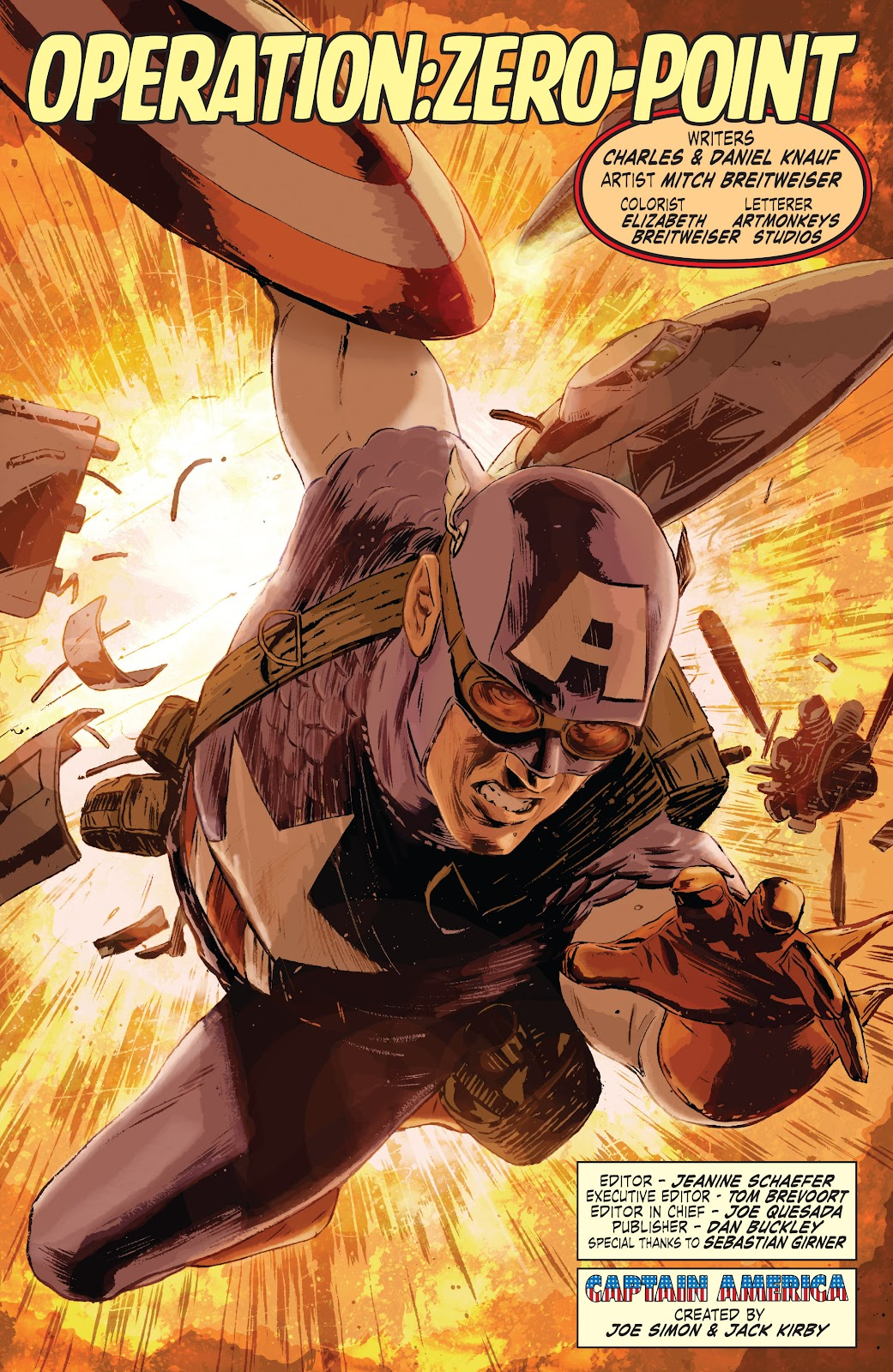 Read online Captain America Theater Of War: Operation Zero-Point comic -  Issue # Full - 5