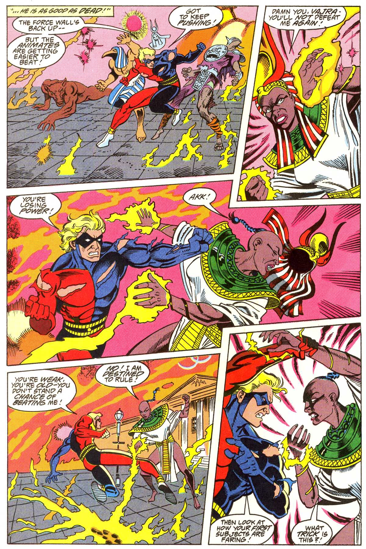 Read online Peter Cannon--Thunderbolt (1992) comic -  Issue #4 - 19