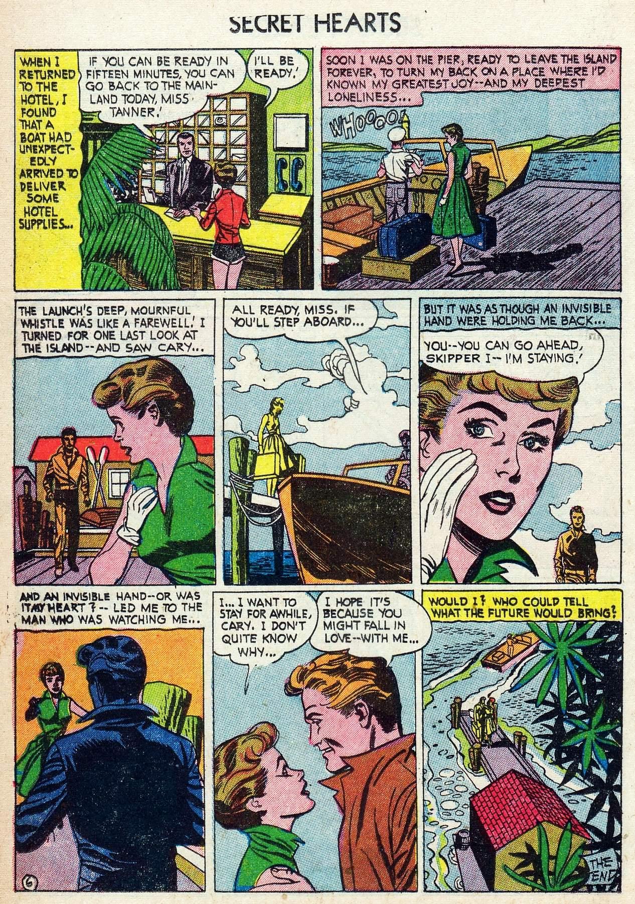 Read online Secret Hearts comic -  Issue #25 - 16