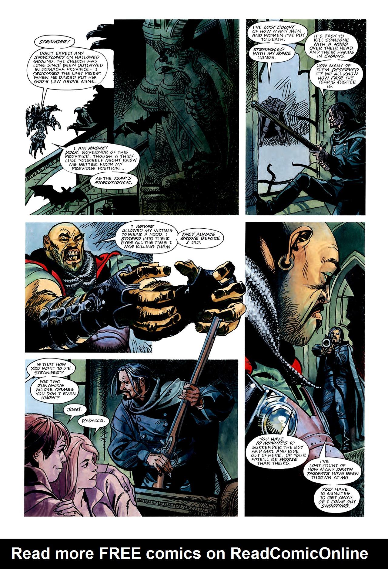 Read online Nikolai Dante comic -  Issue # TPB 3 - 52