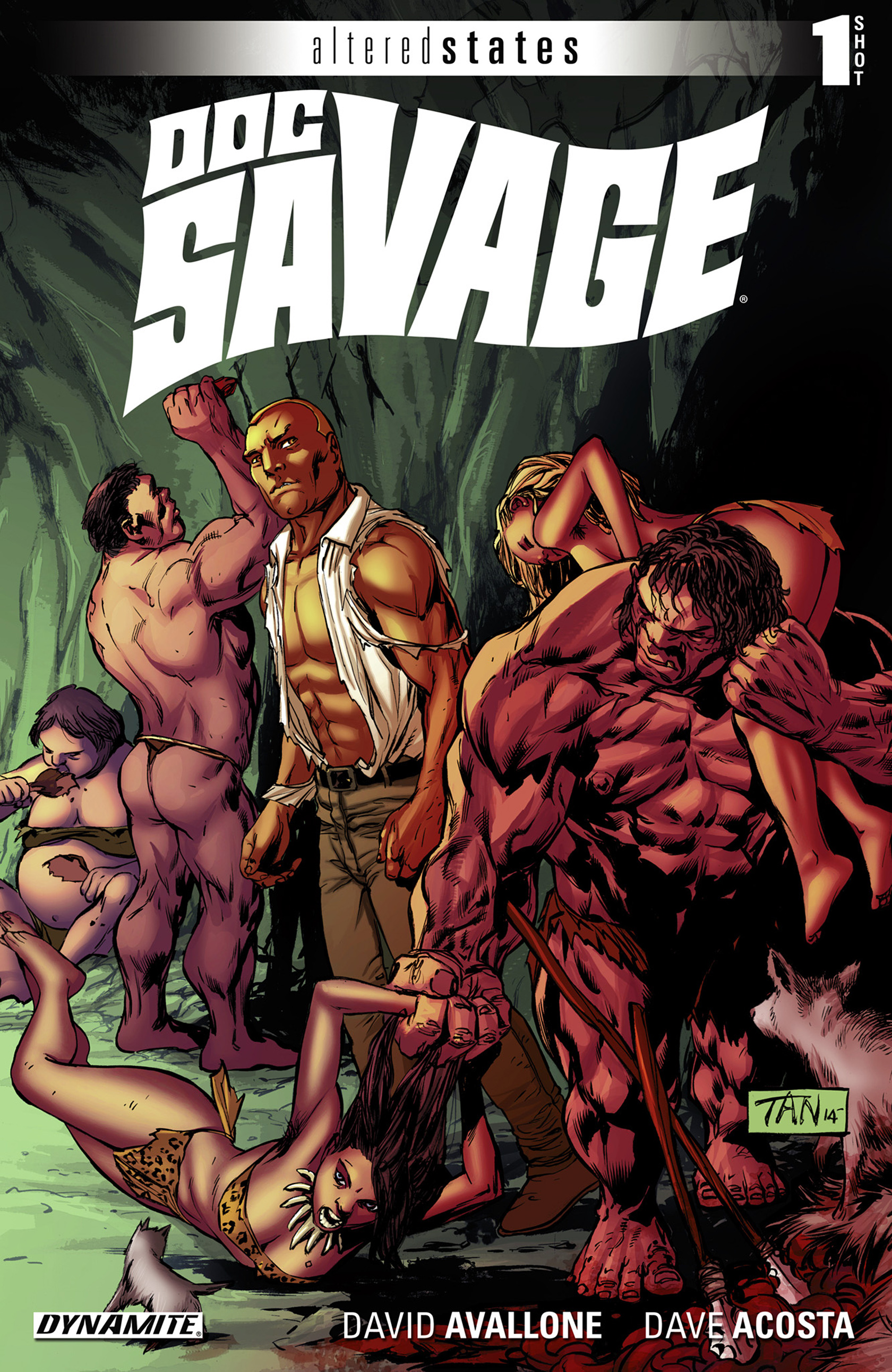 Altered States: Doc Savage Full Page 1