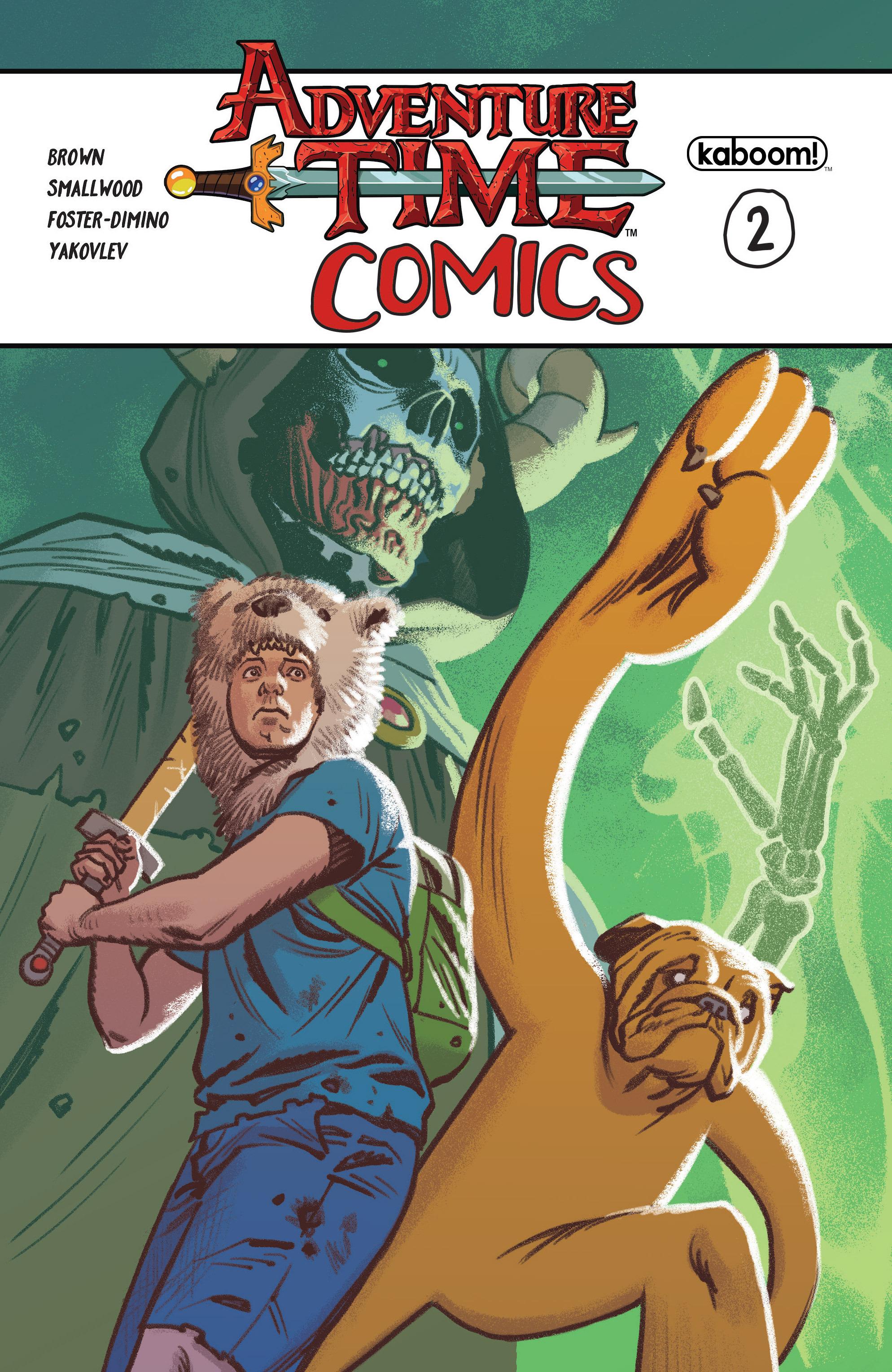 Read online Adventure Time Comics comic -  Issue #2 - 1