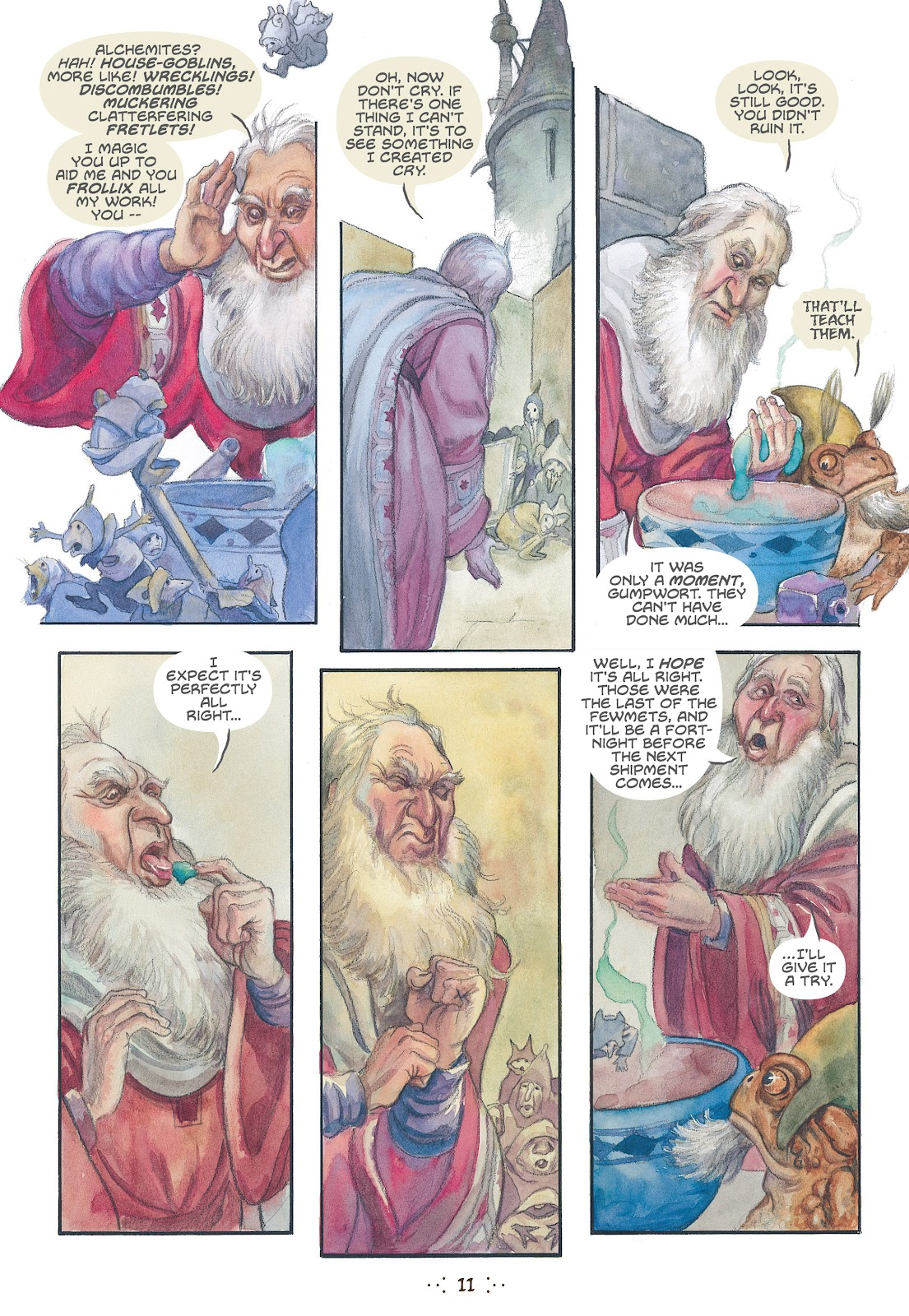 Read online The Wizard's Tale comic -  Issue # TPB - 10
