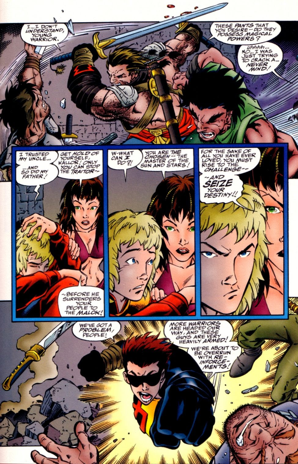 Read online Randy O'Donnell is The M@N comic -  Issue #2 - 20