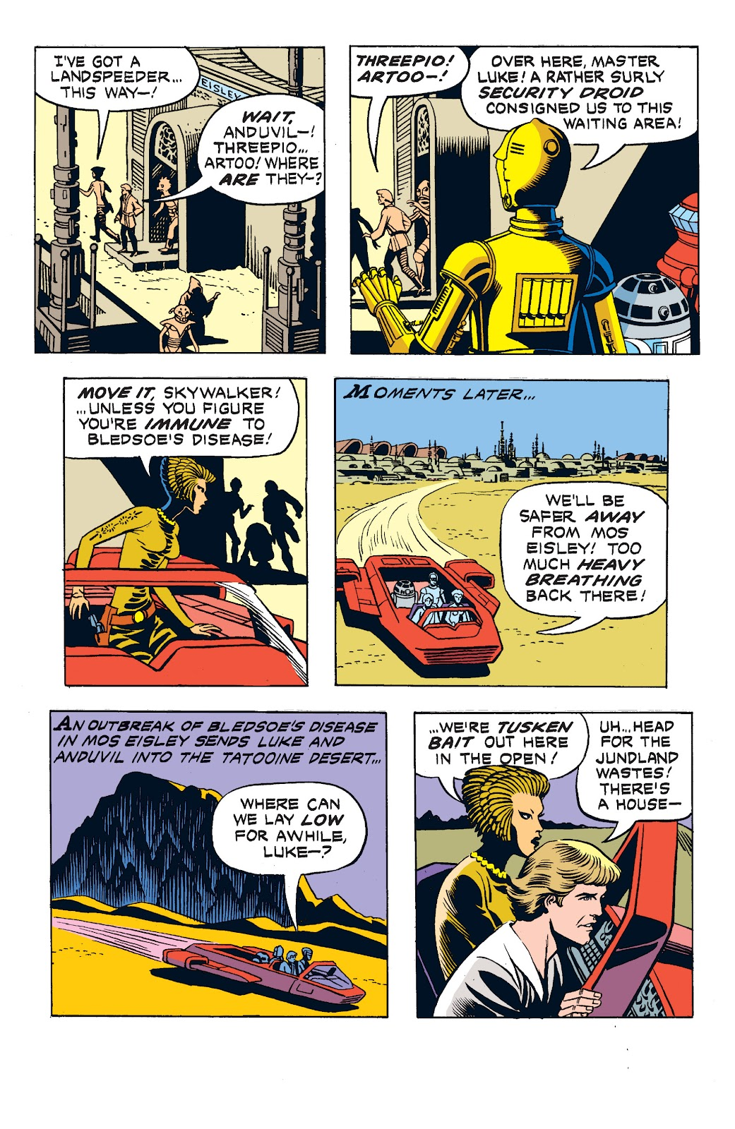 Read online Star Wars Legends: The Newspaper Strips - Epic Collection comic -  Issue # TPB (Part 2) - 32