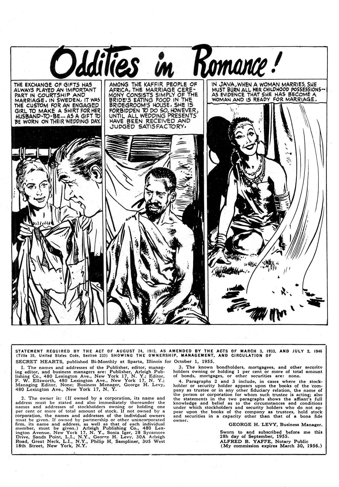 Read online Secret Hearts comic -  Issue #32 - 35