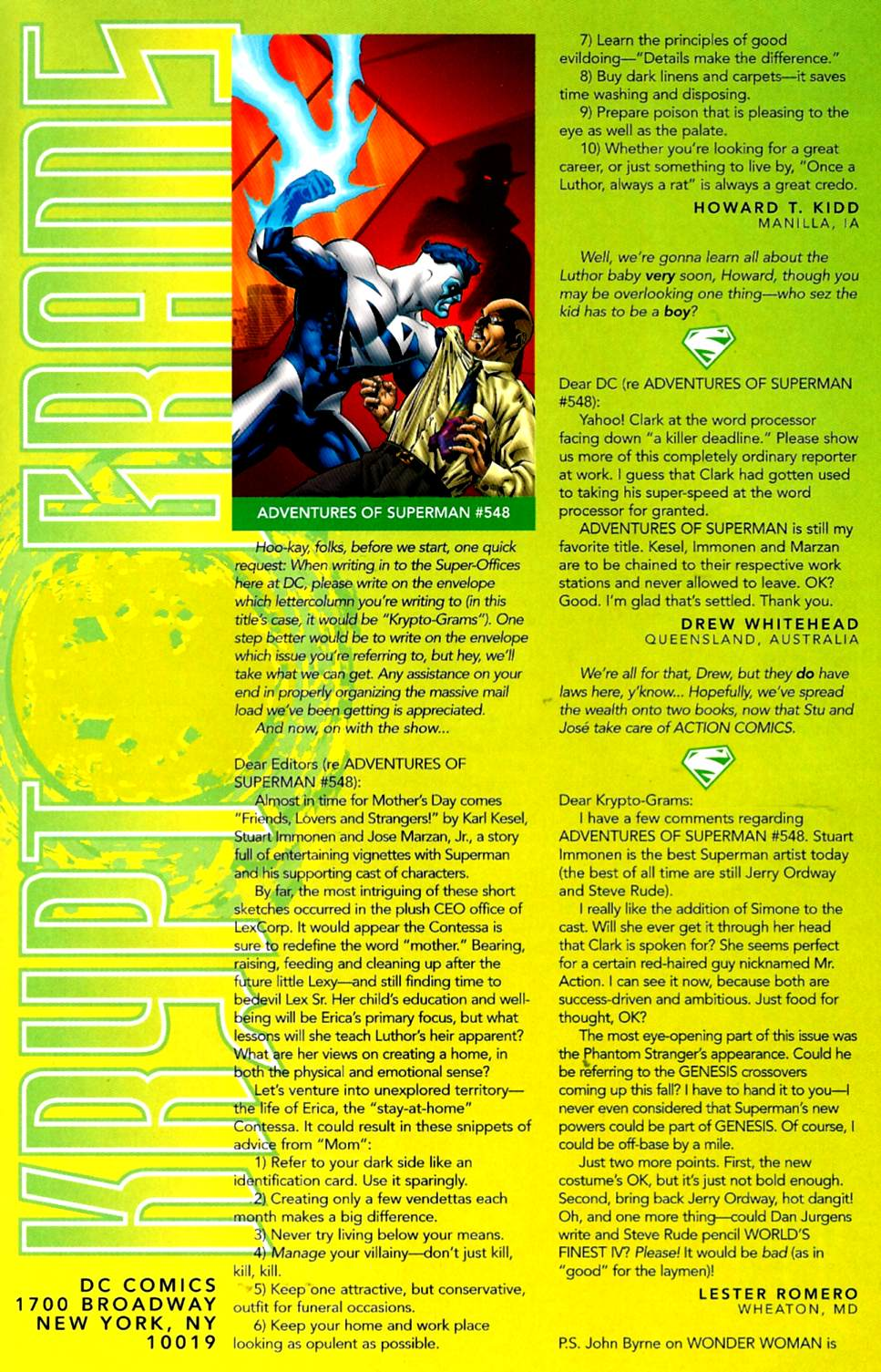 Read online Adventures of Superman (1987) comic -  Issue #553 - 24