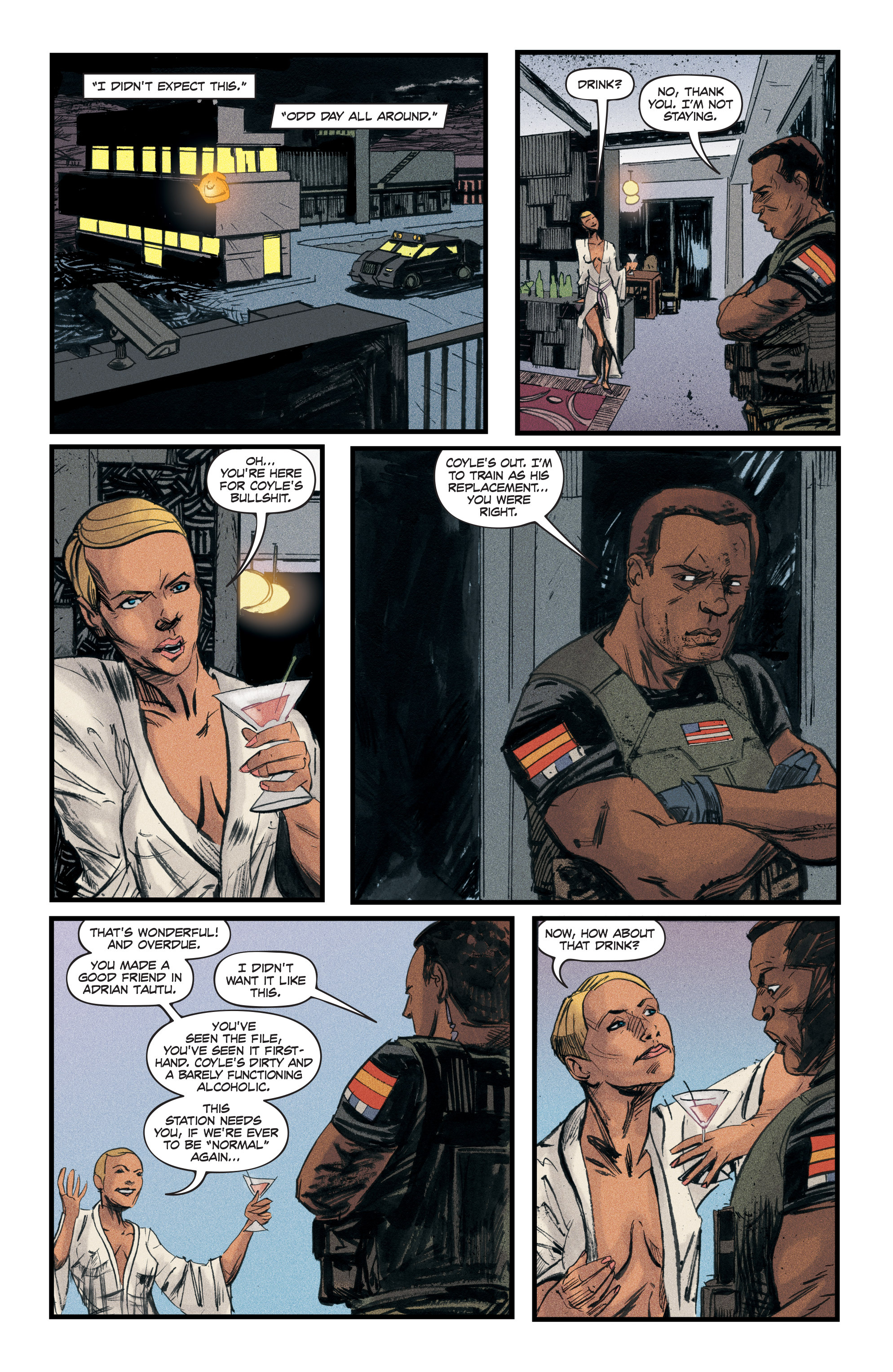 Read online Redline comic -  Issue #3 - 22
