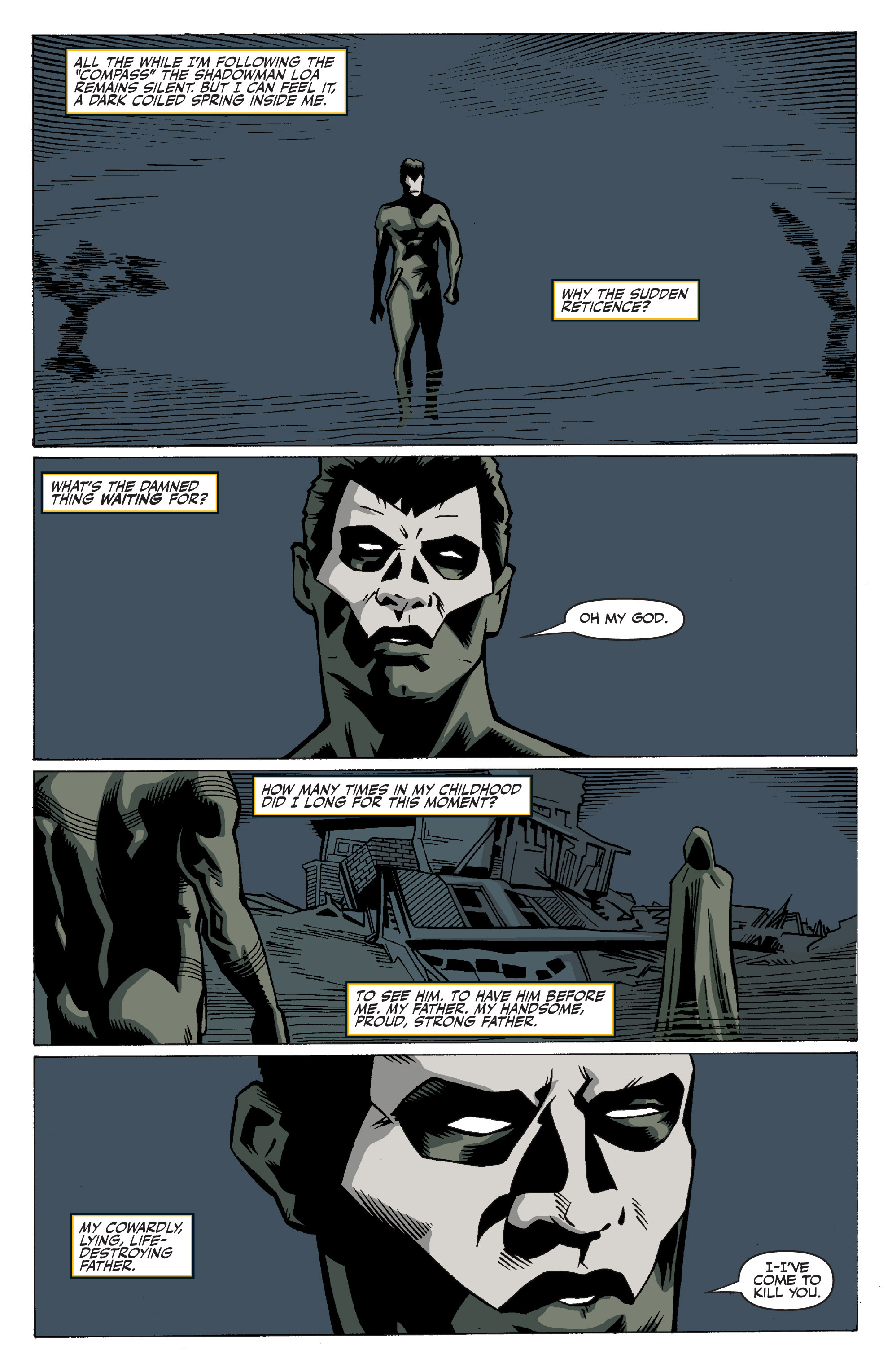 Read online Shadowman: End Times comic -  Issue #3 - 13