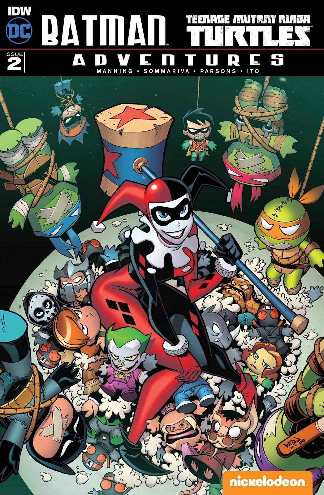 Batman/Teenage Mutant Ninja Turtles Adventure 2 Page 1