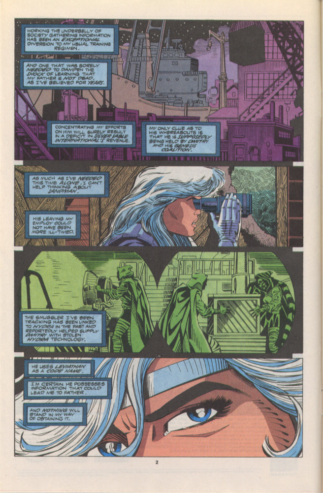 Read online Silver Sable and the Wild Pack comic -  Issue #10 - 3