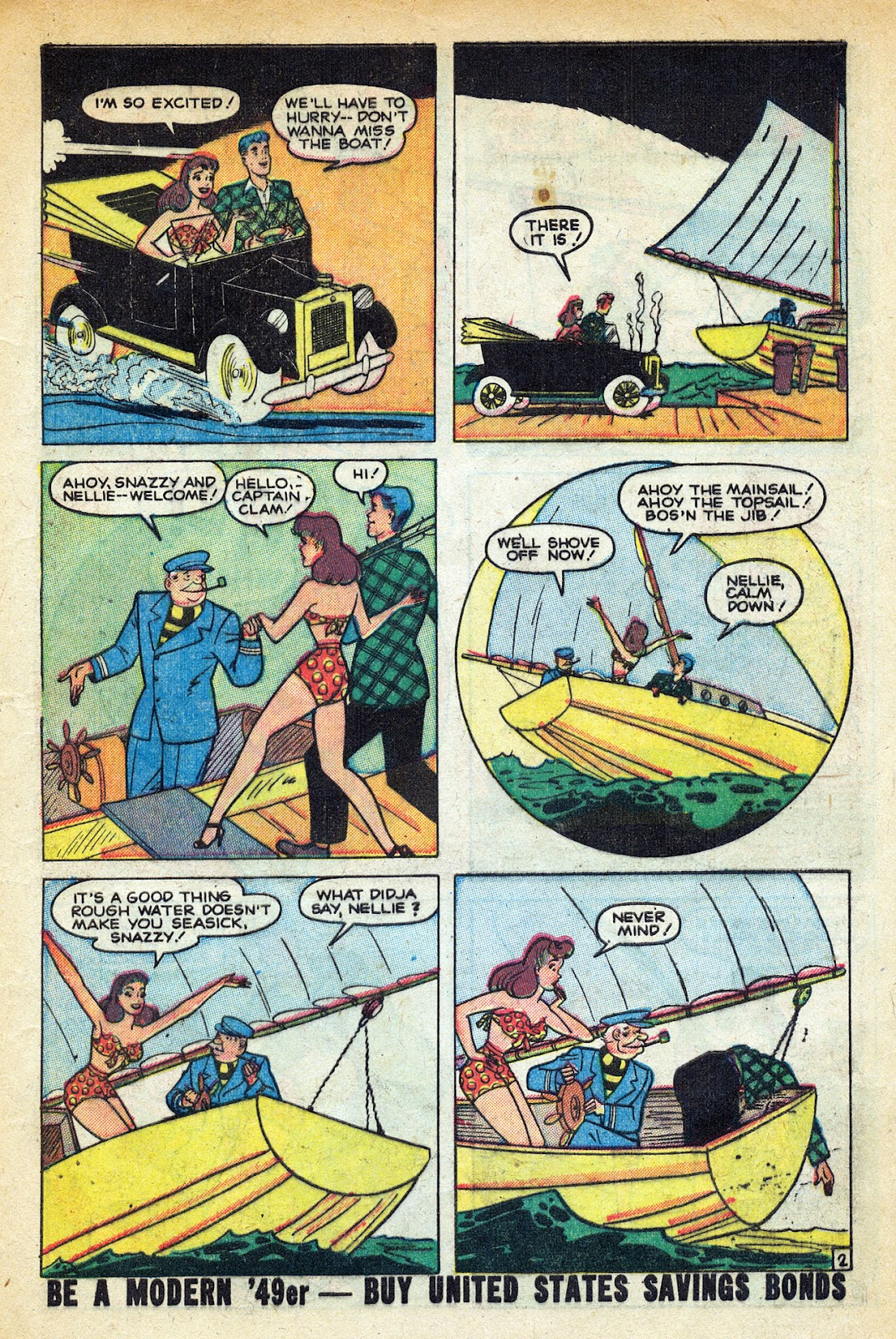 Read online Nellie The Nurse (1945) comic -  Issue #20 - 13