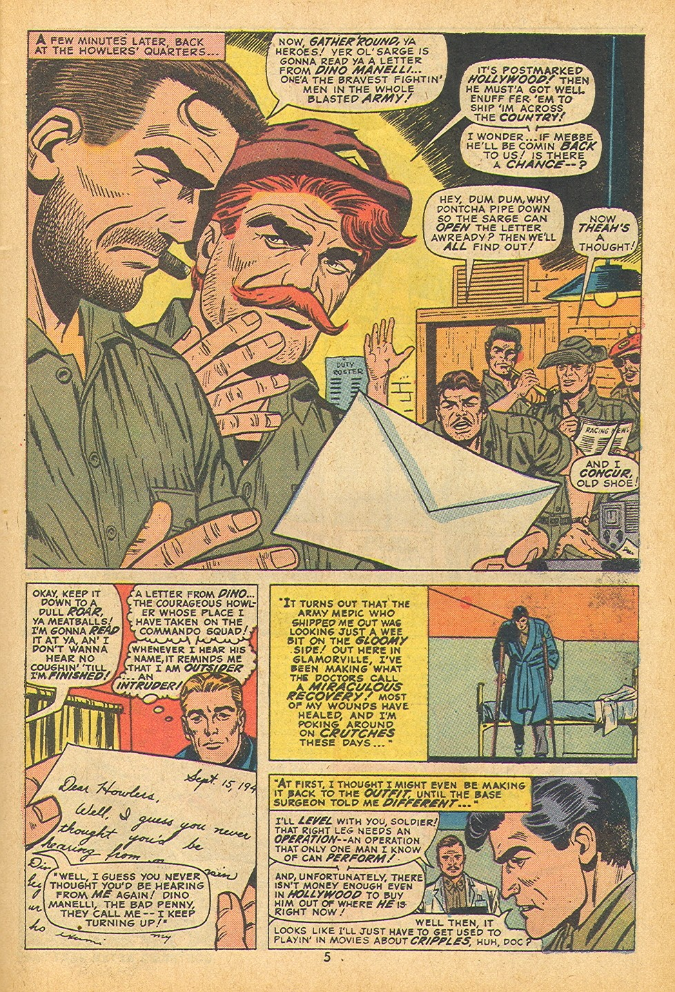 Read online Sgt. Fury comic -  Issue #109 - 7
