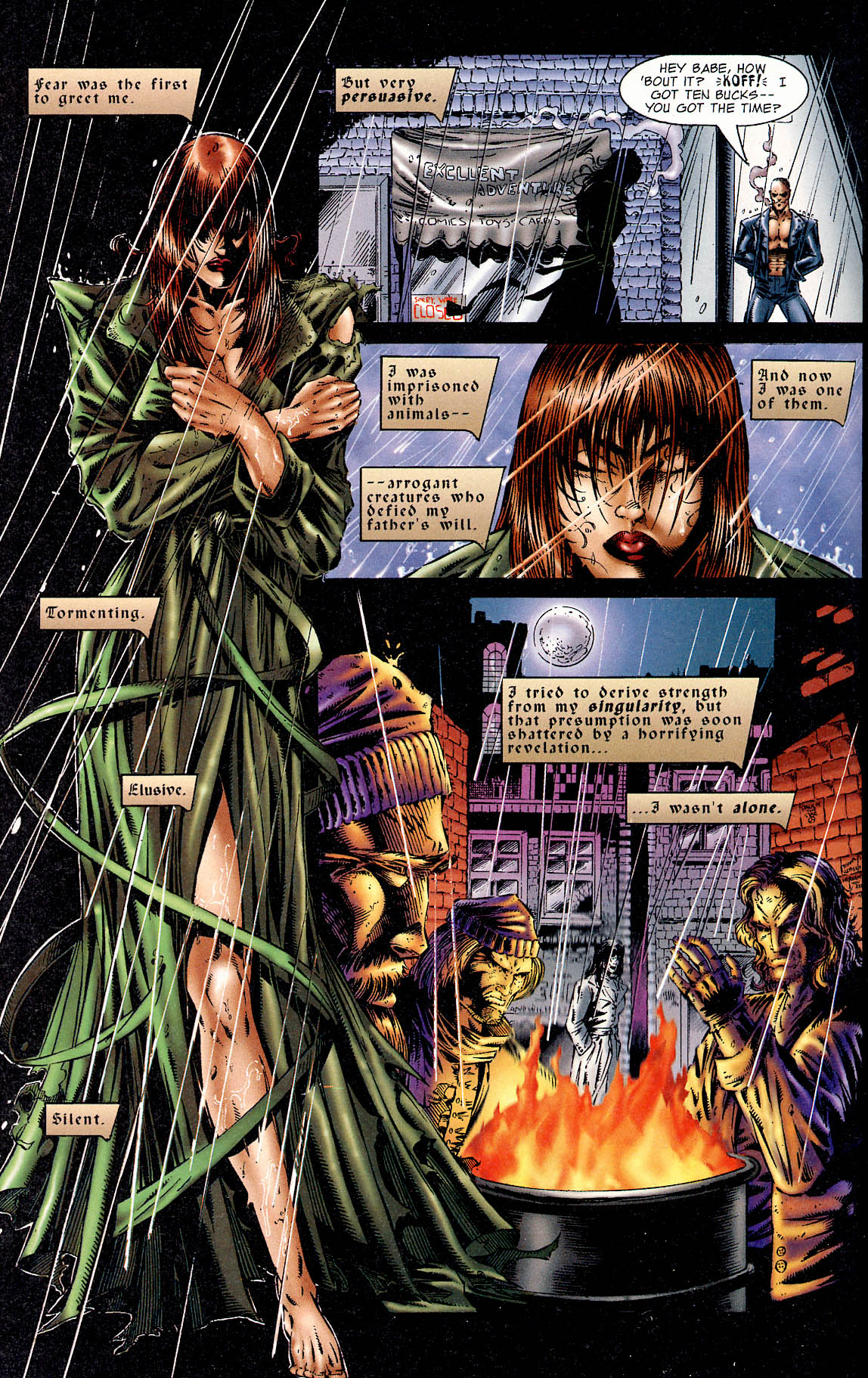 Read online Avengelyne (1995) comic -  Issue #1 - 3