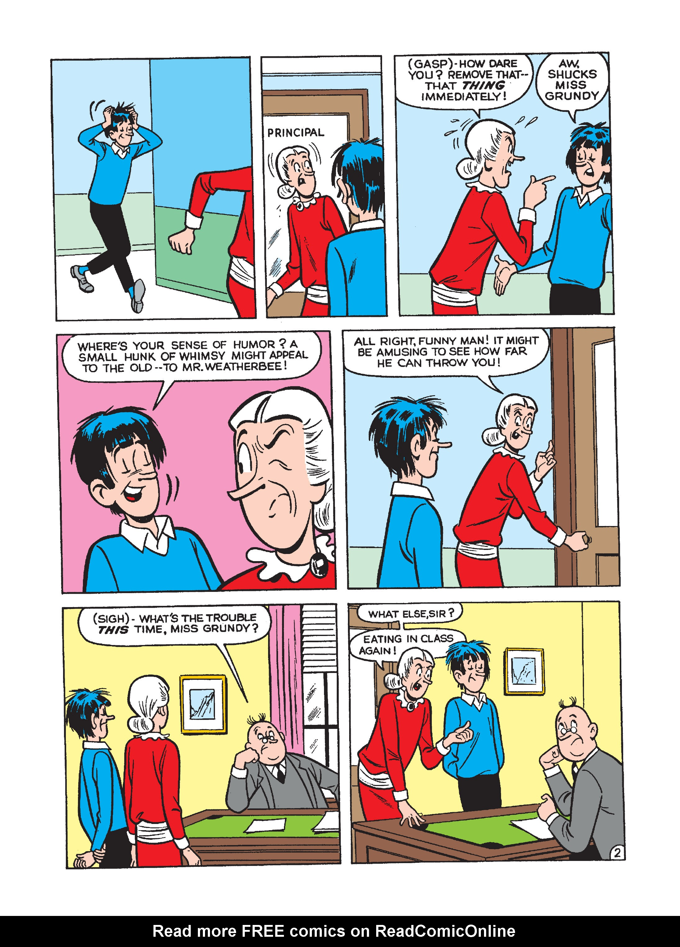 Read online Archie 75th Anniversary Digest comic -  Issue #3 - 110