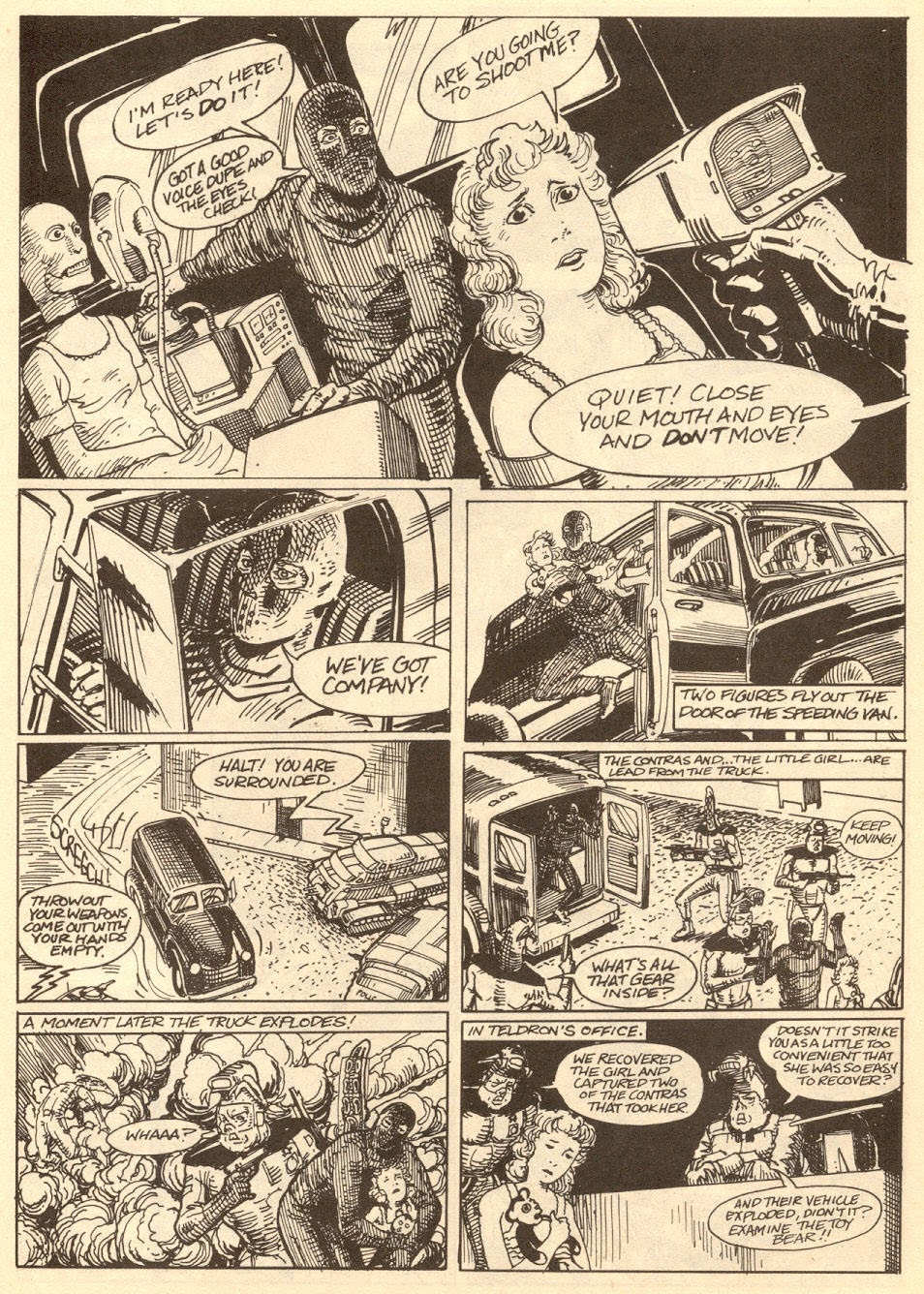Commies from Mars: The Red Planet issue 6 - Page 34