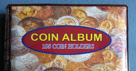 100 Coins from 100 Countries with stickers folders and album @ 3000/-