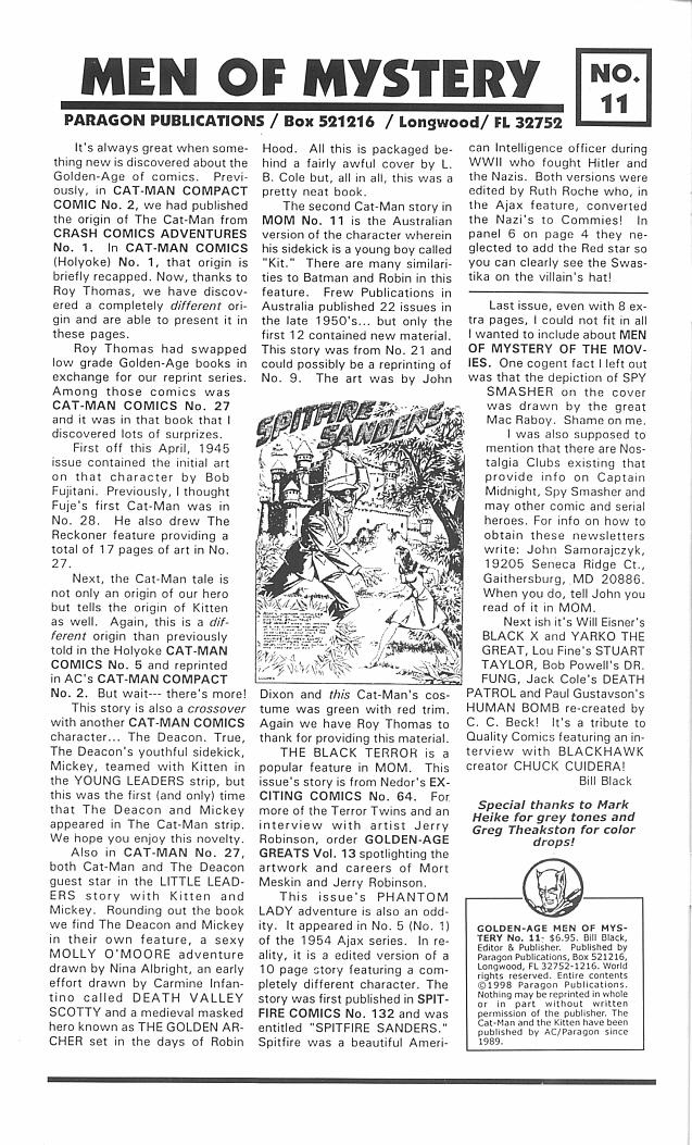 Read online Golden-Age Men of Mystery comic -  Issue #11 - 2