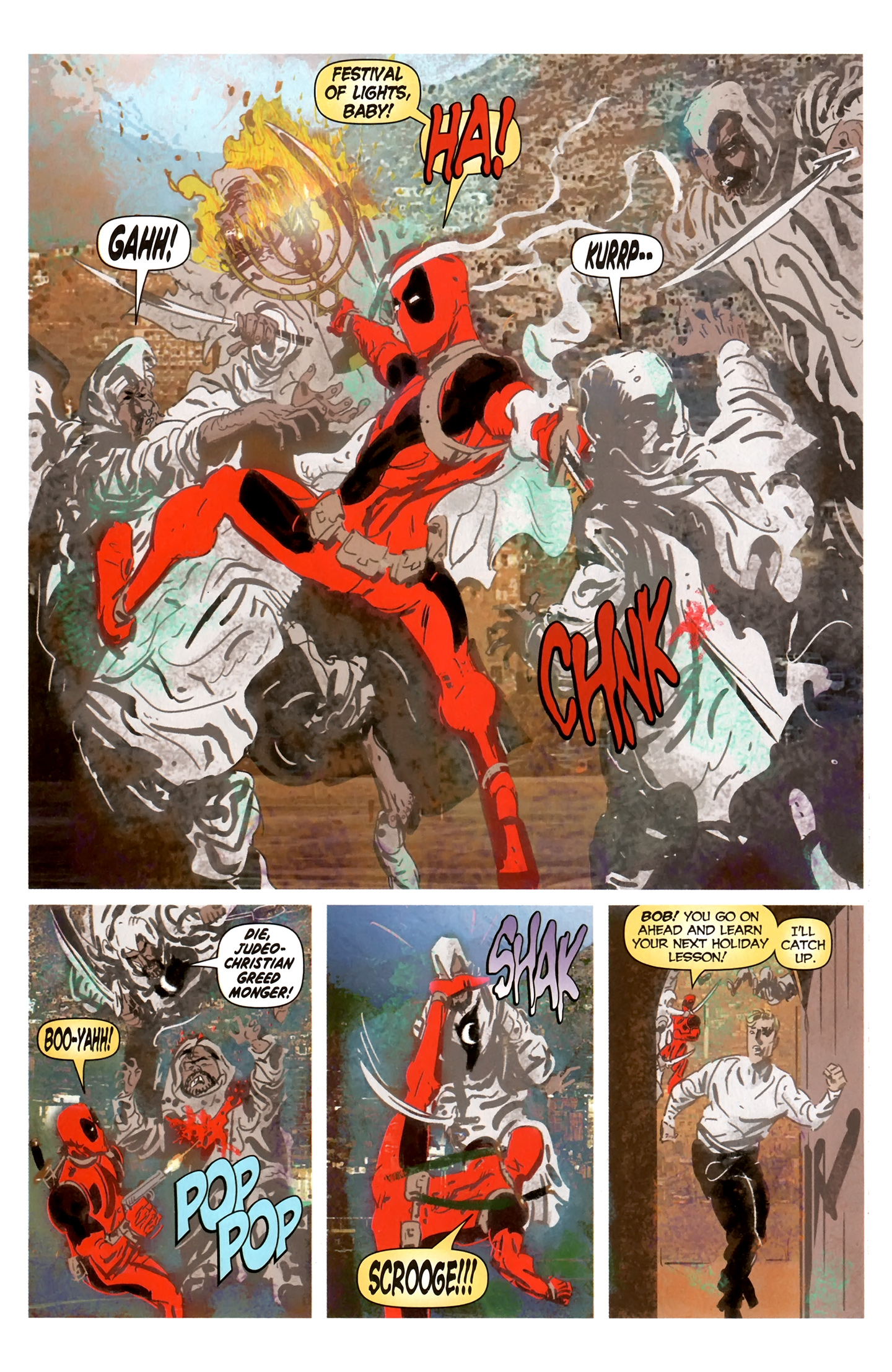 Read online Deadpool MAX X-Mas Special comic -  Issue # Full - 15