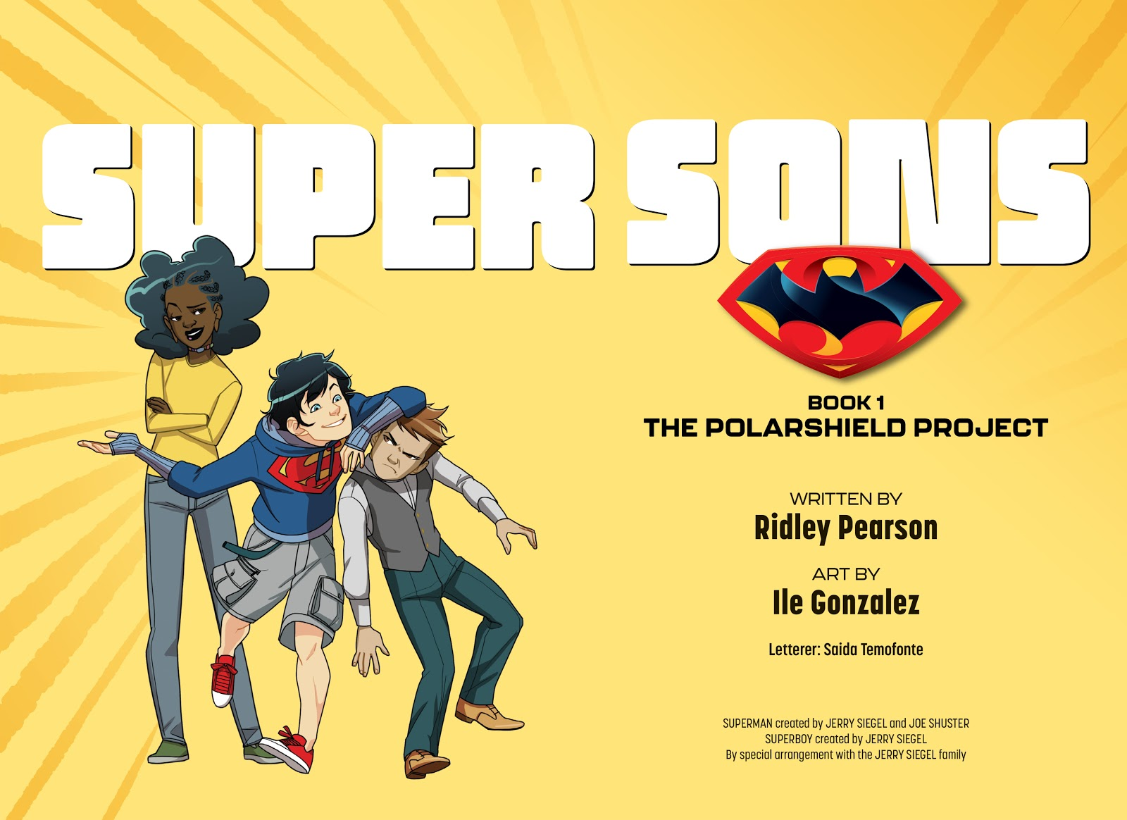 Read online Super Sons (2019) comic -  Issue # TPB The Polarshield Project (Part 1) - 3