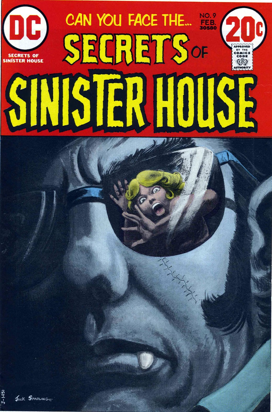 Secrets of Sinister House (1972) 9 Page 1