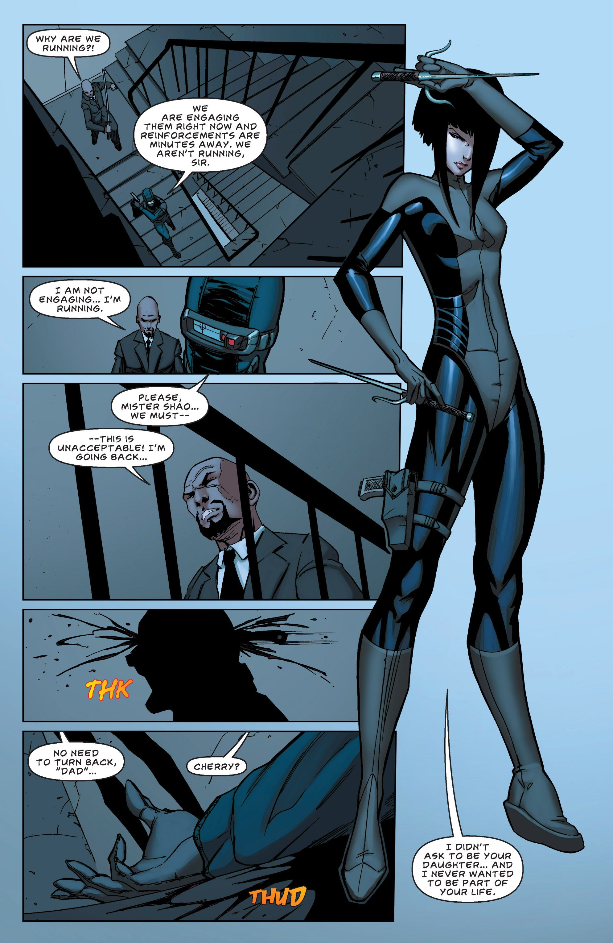 Read online All New Executive Assistant: Iris comic -  Issue #5 - 15