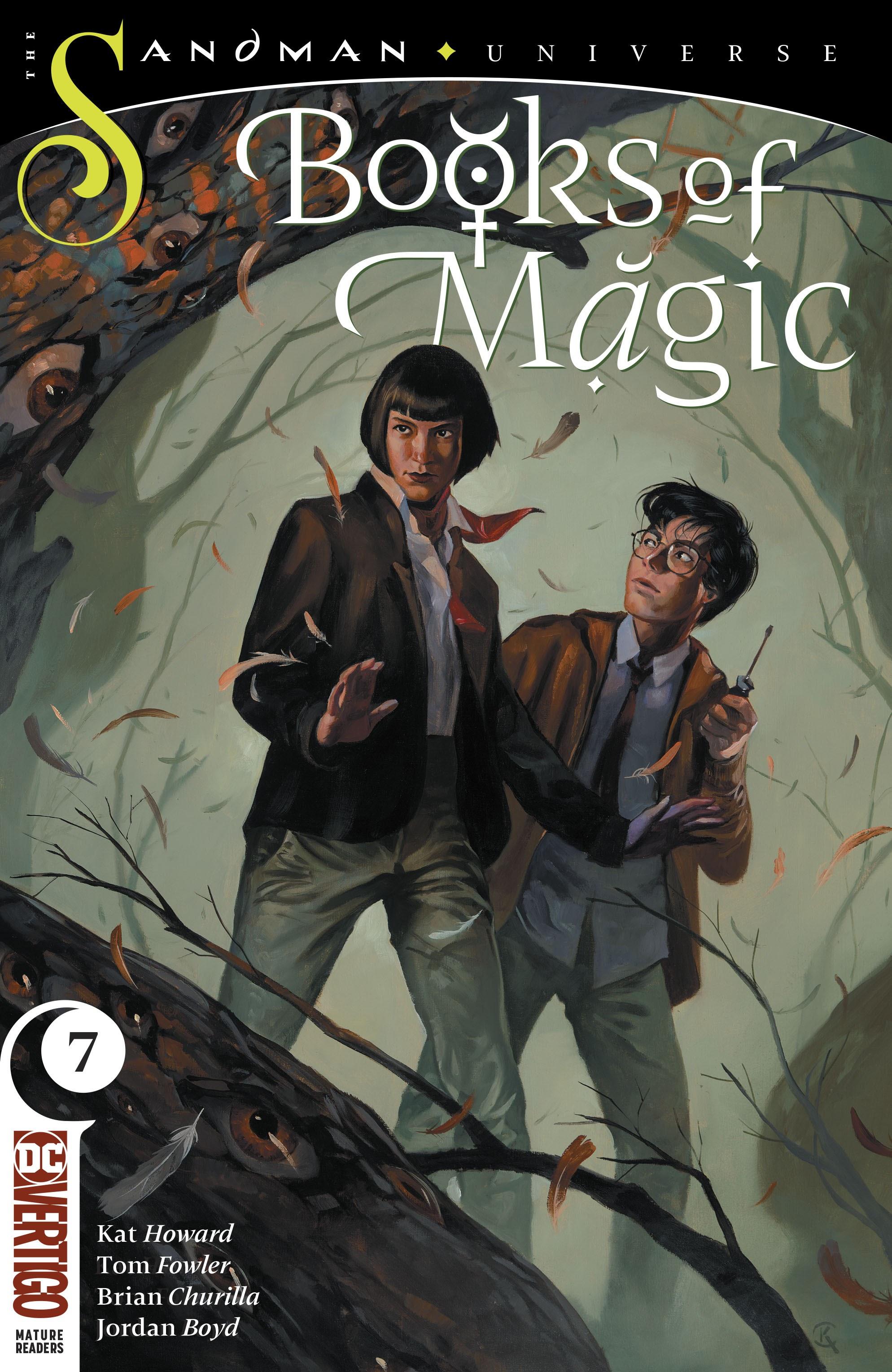 Books of Magic 2018 Issue 7